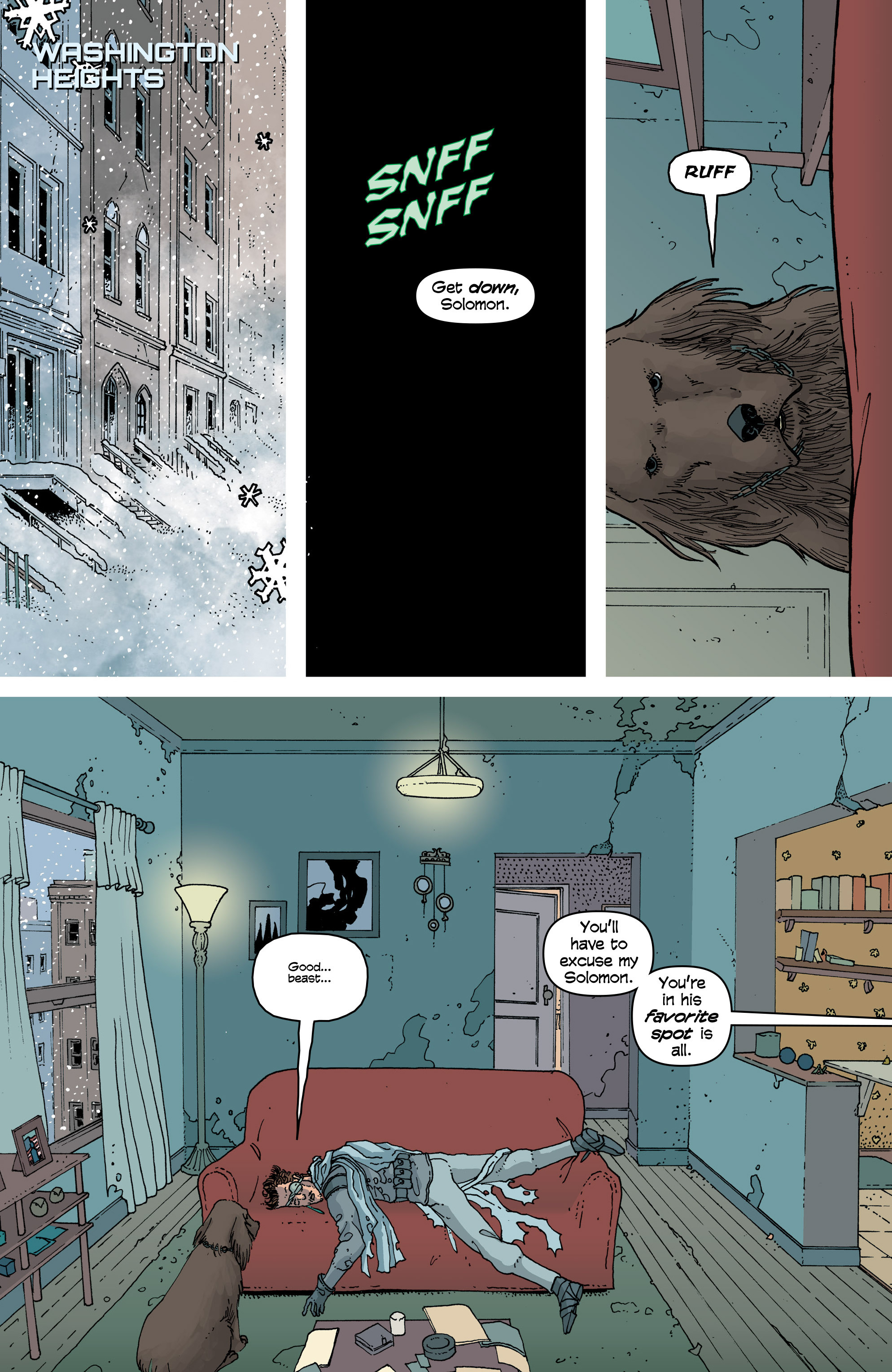 Read online Snowfall comic -  Issue #6 - 13