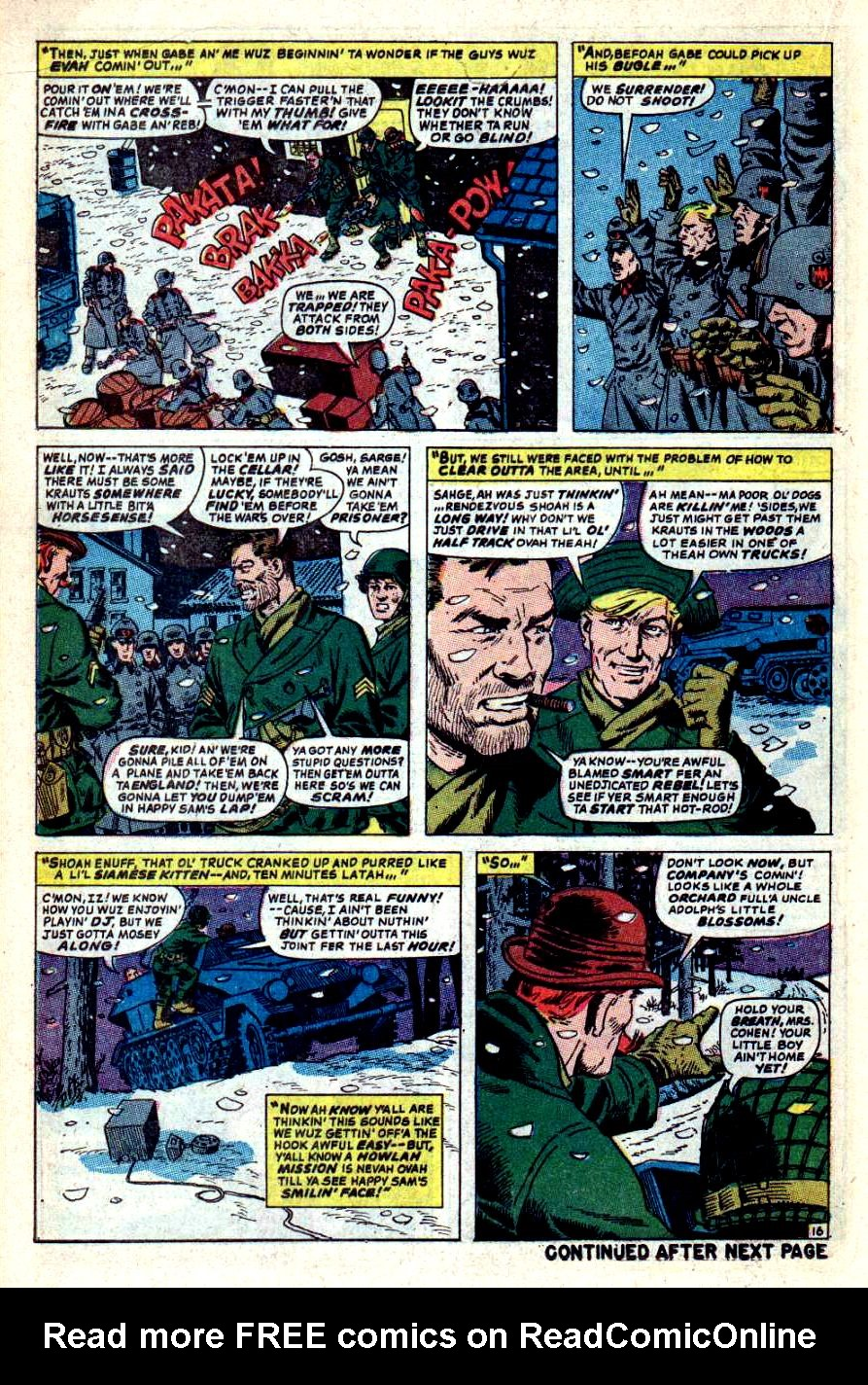Read online Sgt. Fury comic -  Issue #44 - 22
