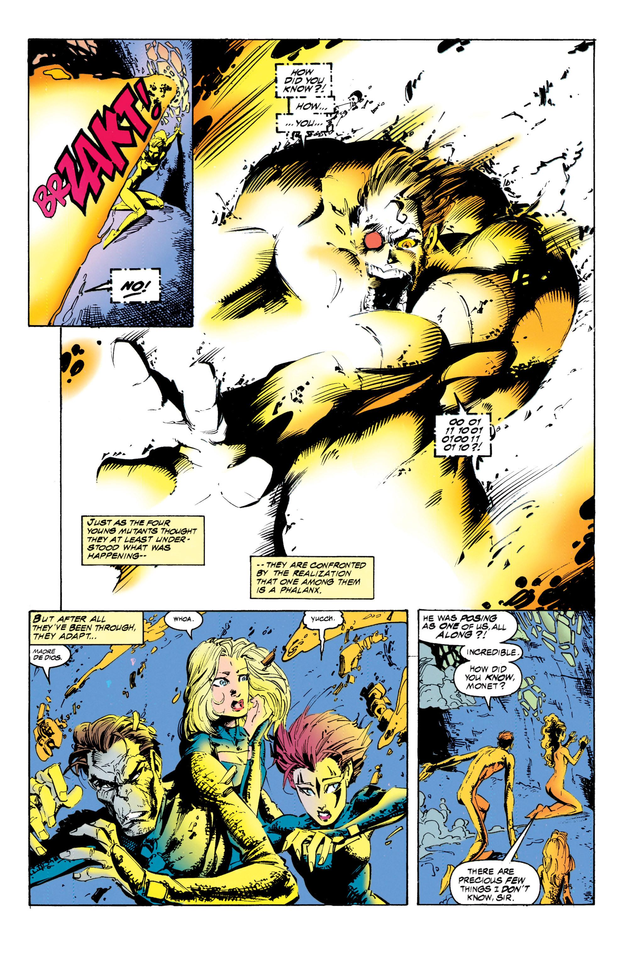 Read online Uncanny X-Men (1963) comic -  Issue #317 - 18