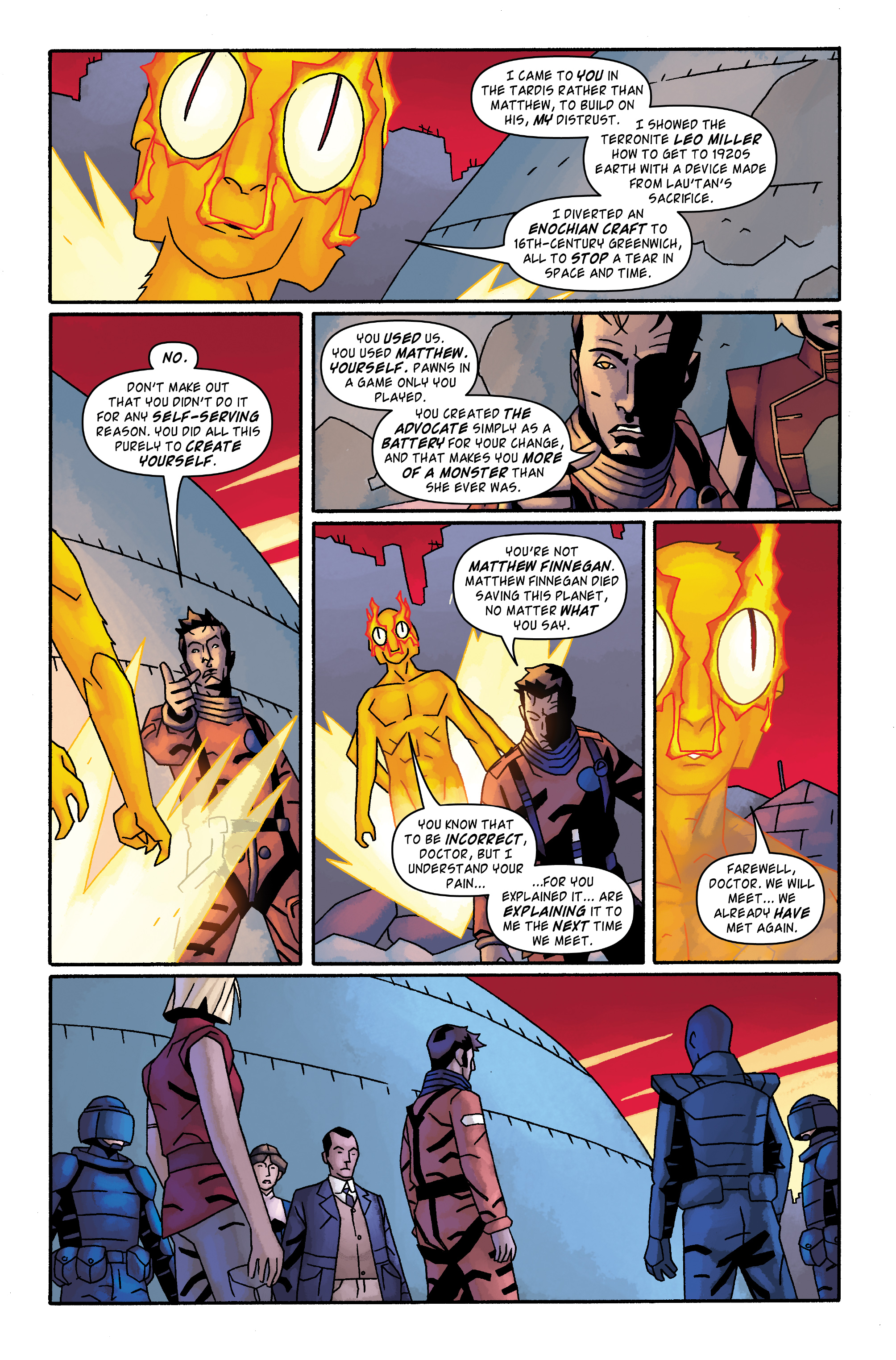 Read online Doctor Who: The Tenth Doctor Archives comic -  Issue #34 - 16