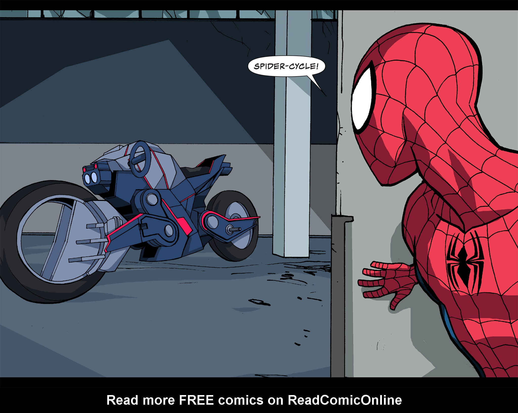 Read online Ultimate Spider-Man (Infinite Comics) (2015) comic -  Issue #14 - 24