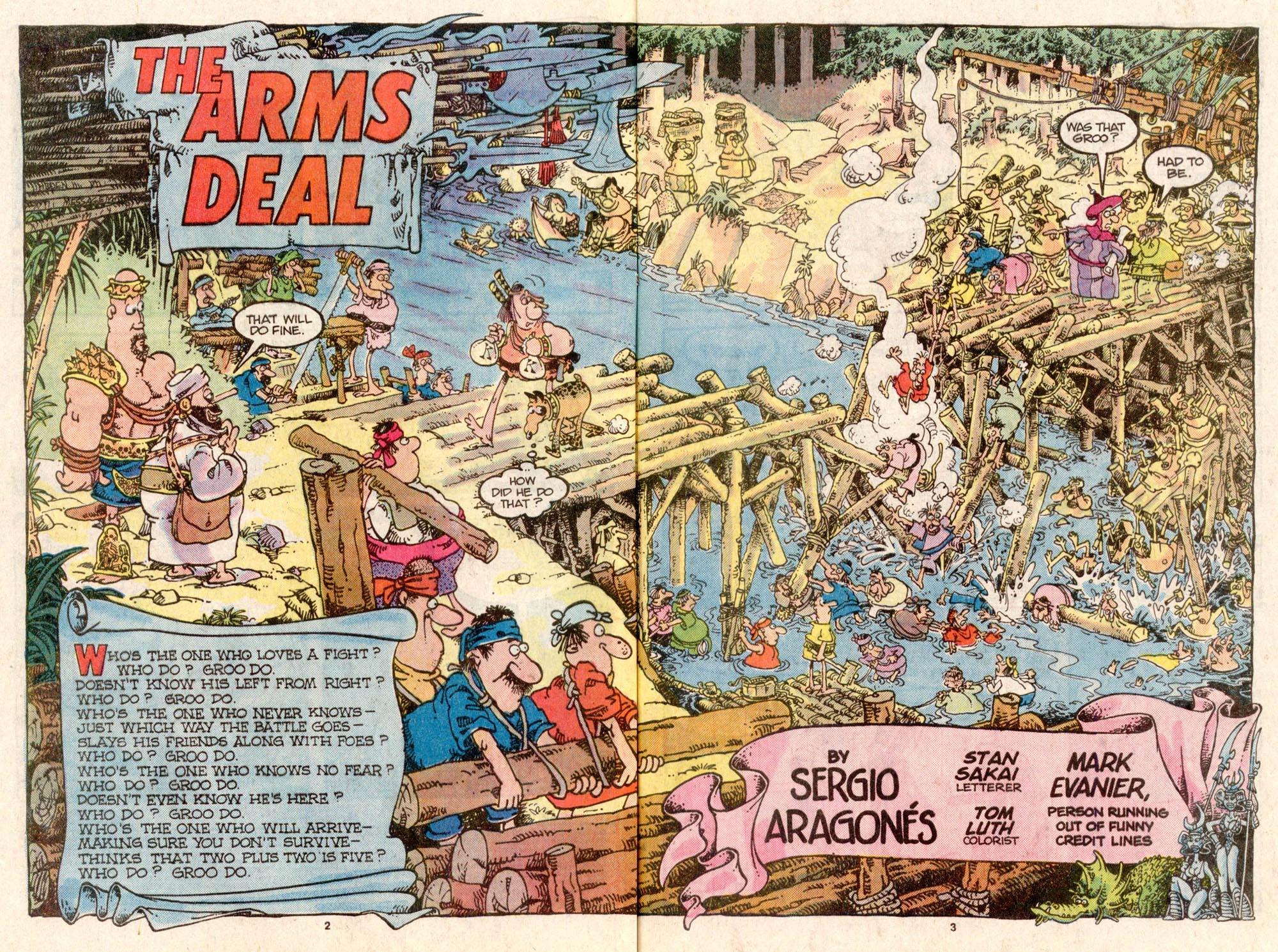 Read online Sergio Aragonés Groo the Wanderer comic -  Issue #31 - 3