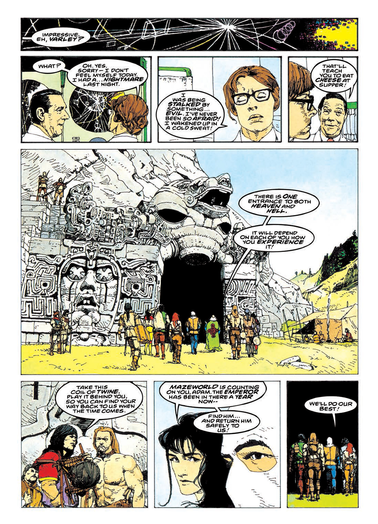 Read online Mazeworld comic -  Issue # TPB - 141