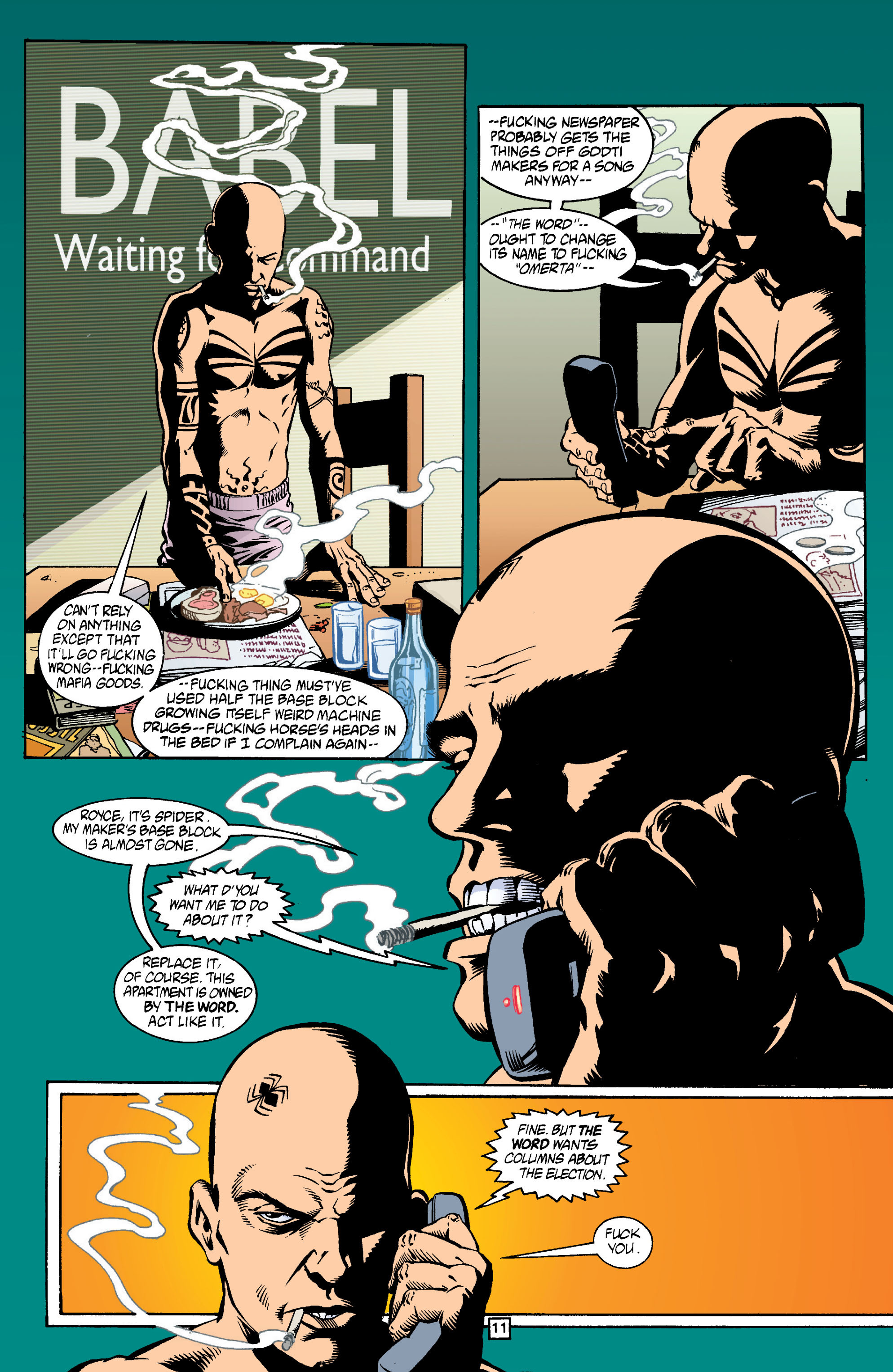Read online Transmetropolitan comic -  Issue #13 - 12