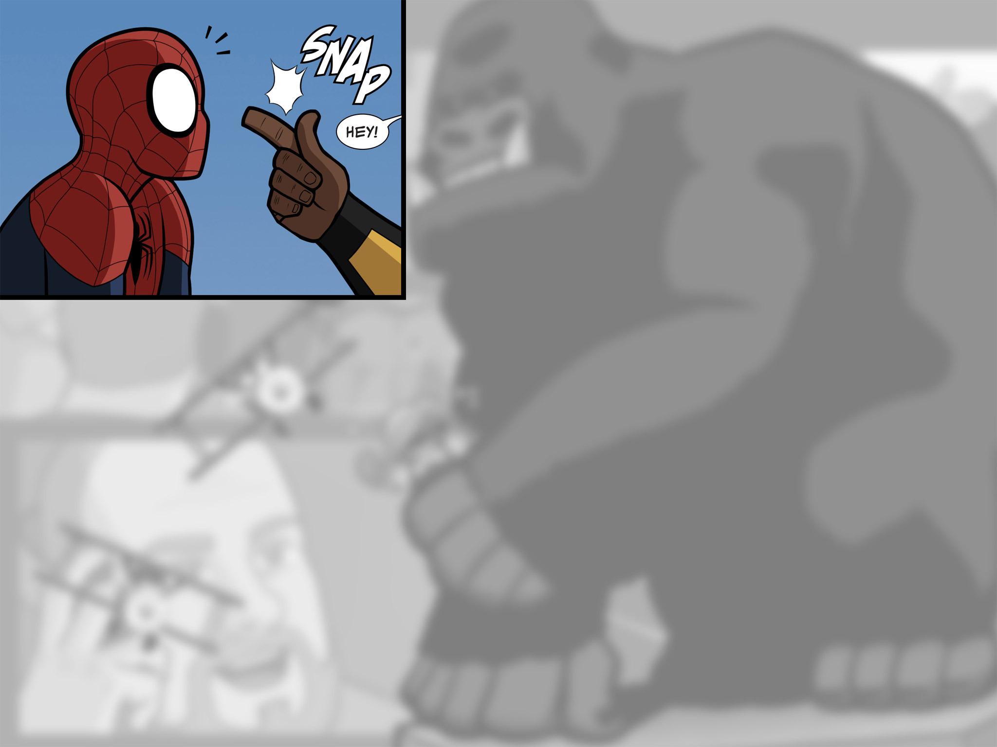 Read online Ultimate Spider-Man (Infinite Comics) (2015) comic -  Issue #10 - 28