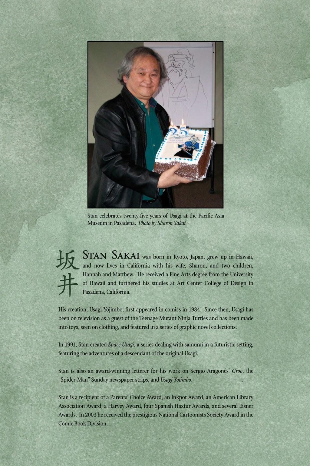 Read online Usagi Yojimbo: Yokai comic -  Issue # Full - 56
