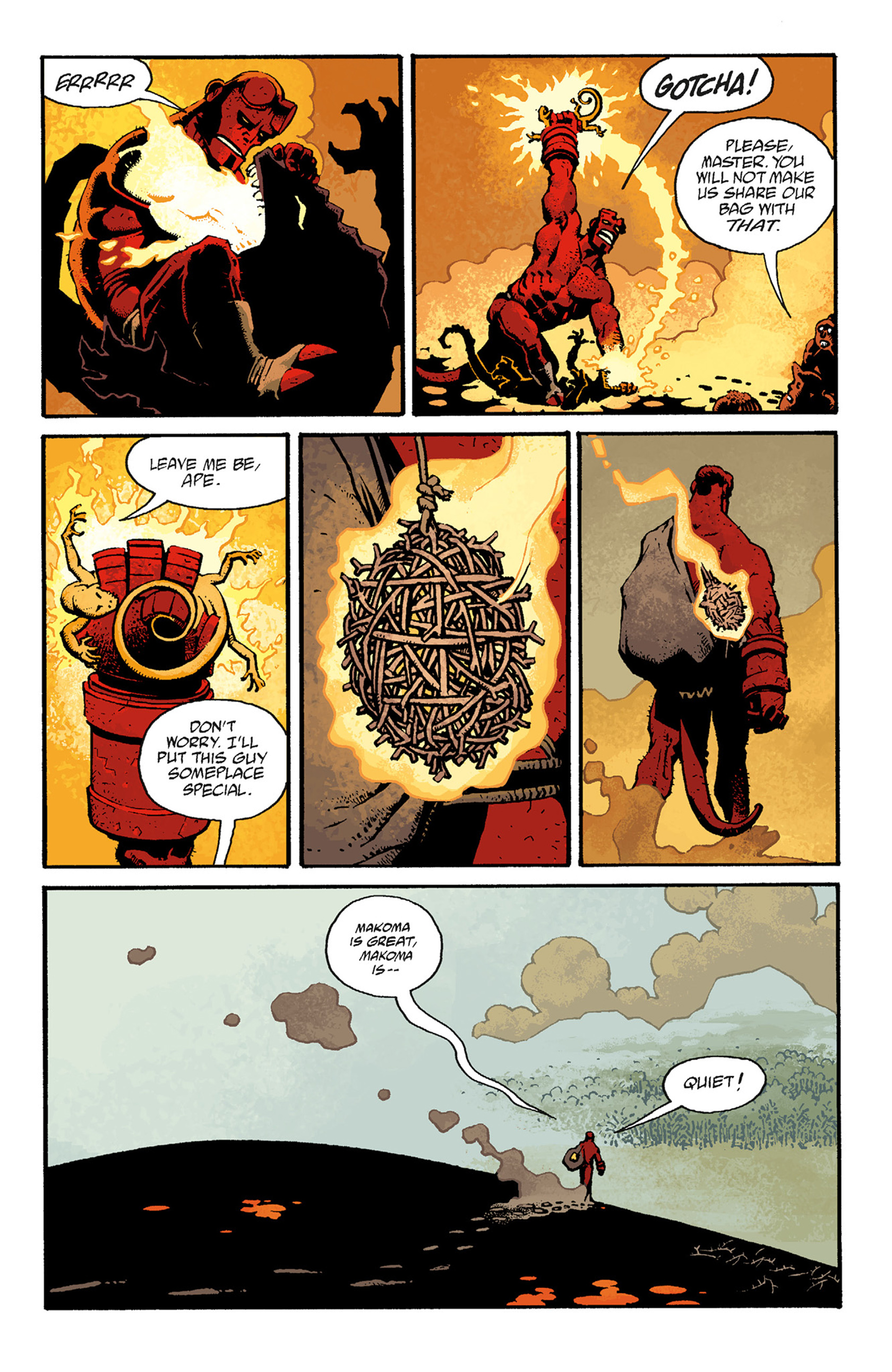 Read online Hellboy: The Troll Witch and Others comic -  Issue # TPB - 107