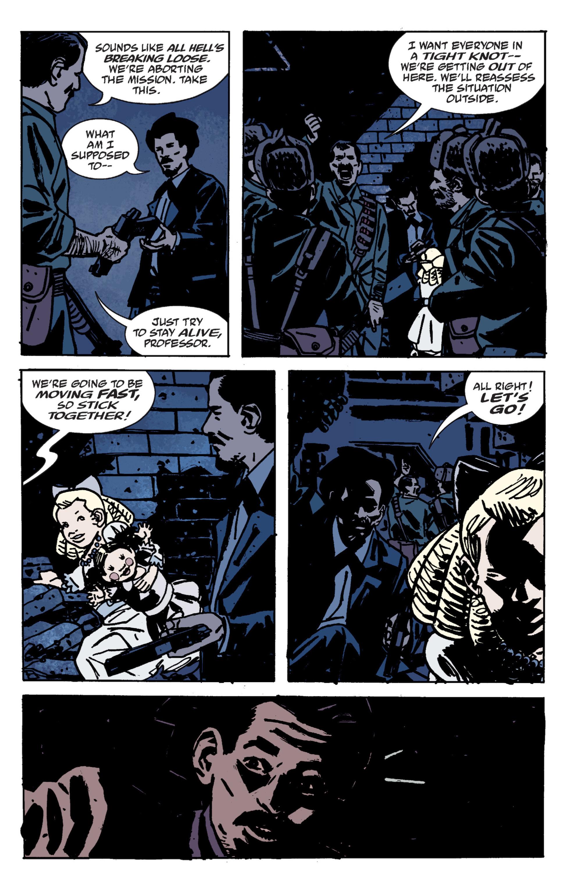 Read online B.P.R.D. (2003) comic -  Issue # TPB 9 - 67