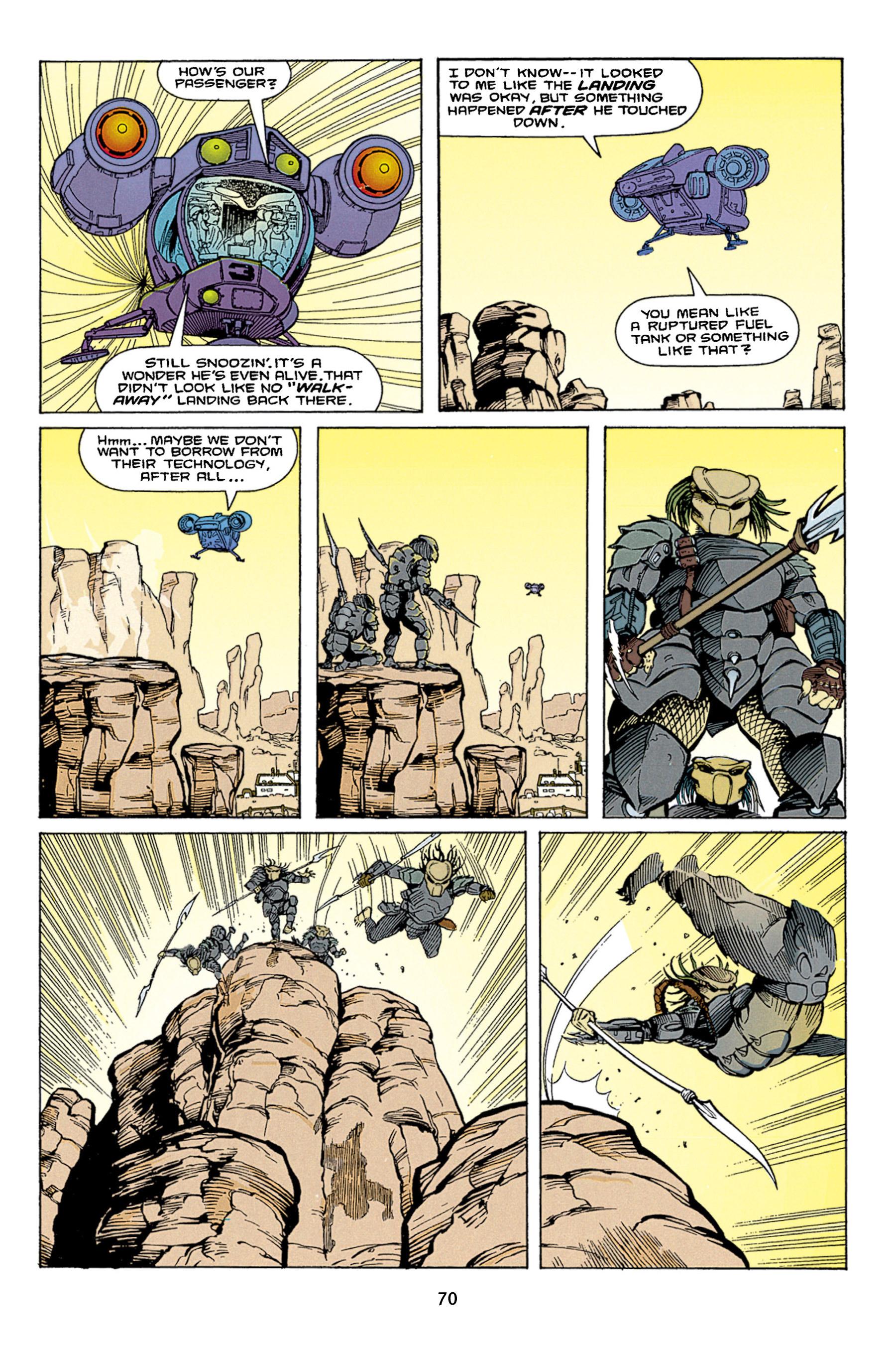 Read online Aliens vs. Predator Omnibus comic -  Issue # _TPB 1 Part 1 - 70