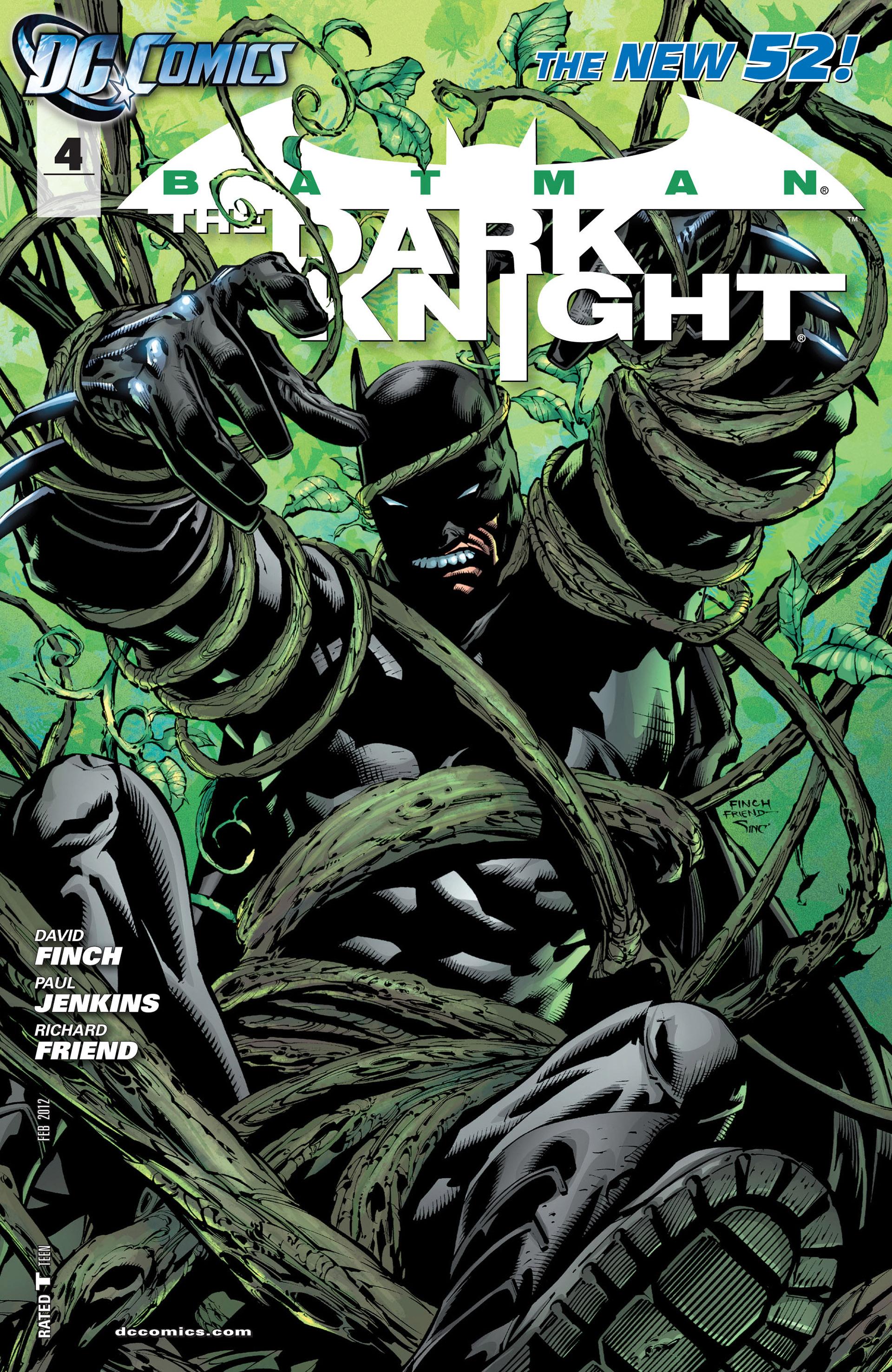 Batman: The Dark Knight [II] (2011) 4 Page 1