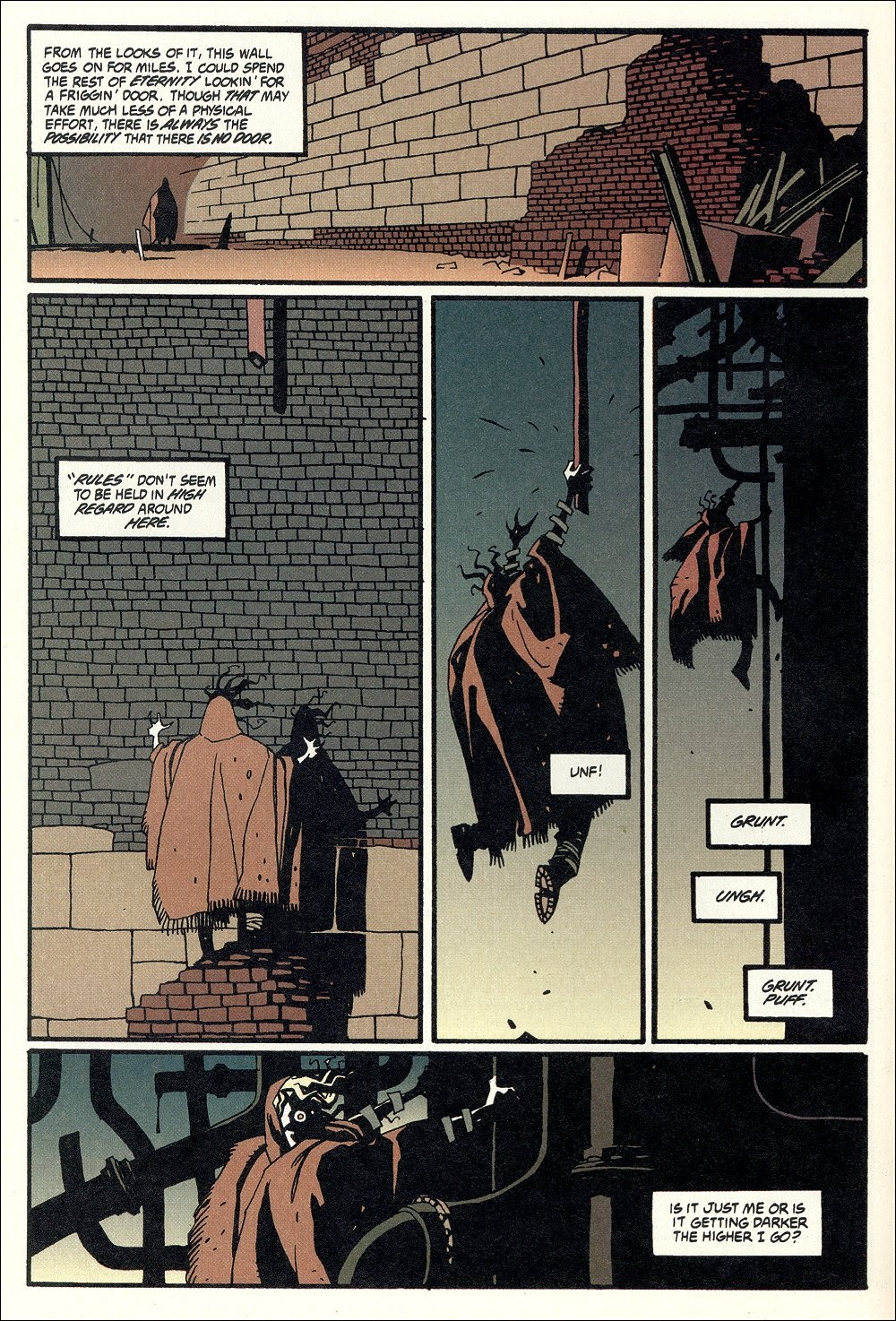 Read online Ted McKeever's Metropol comic -  Issue #11 - 22