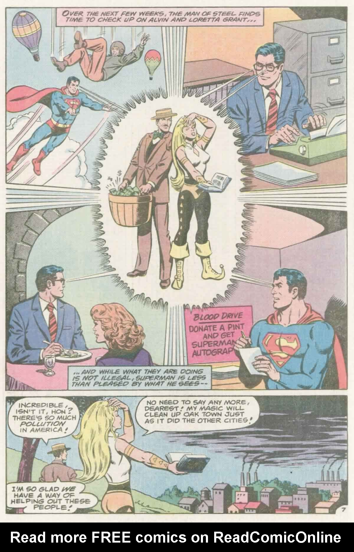 Read online Action Comics (1938) comic -  Issue #559 - 8