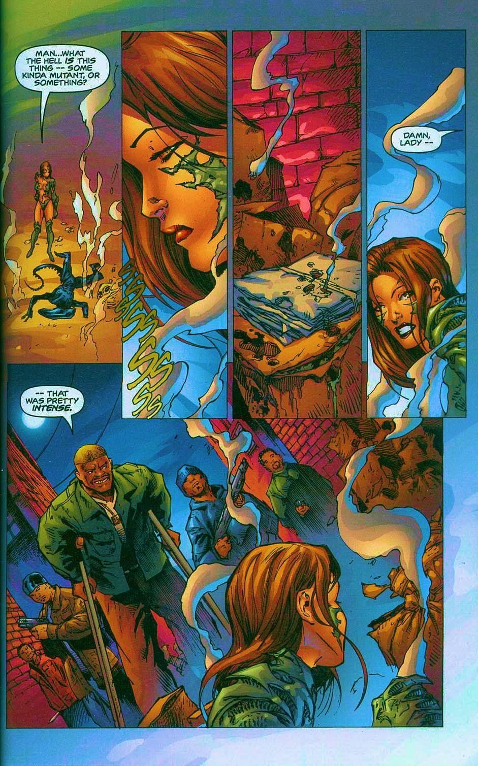 Read online Overkill: Witchblade/Aliens/Darkness/Predator comic -  Issue #2 - 22