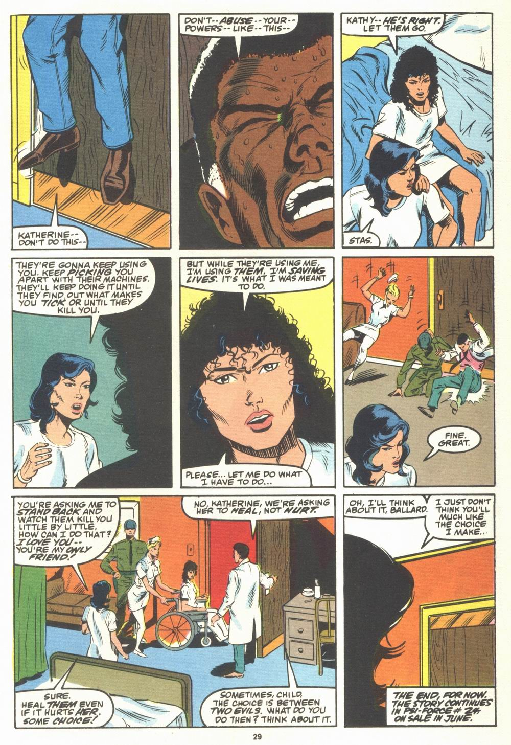 Read online Justice (1986) comic -  Issue #23 - 31
