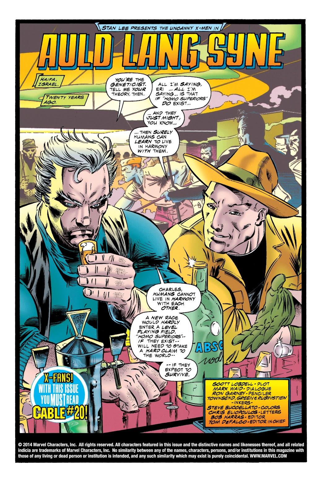 Uncanny X-Men (1963) issue 321 - Page 2