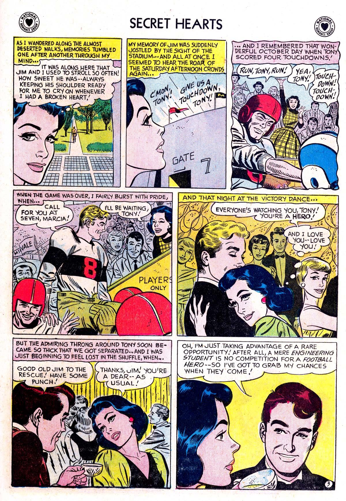 Read online Secret Hearts comic -  Issue #42 - 21