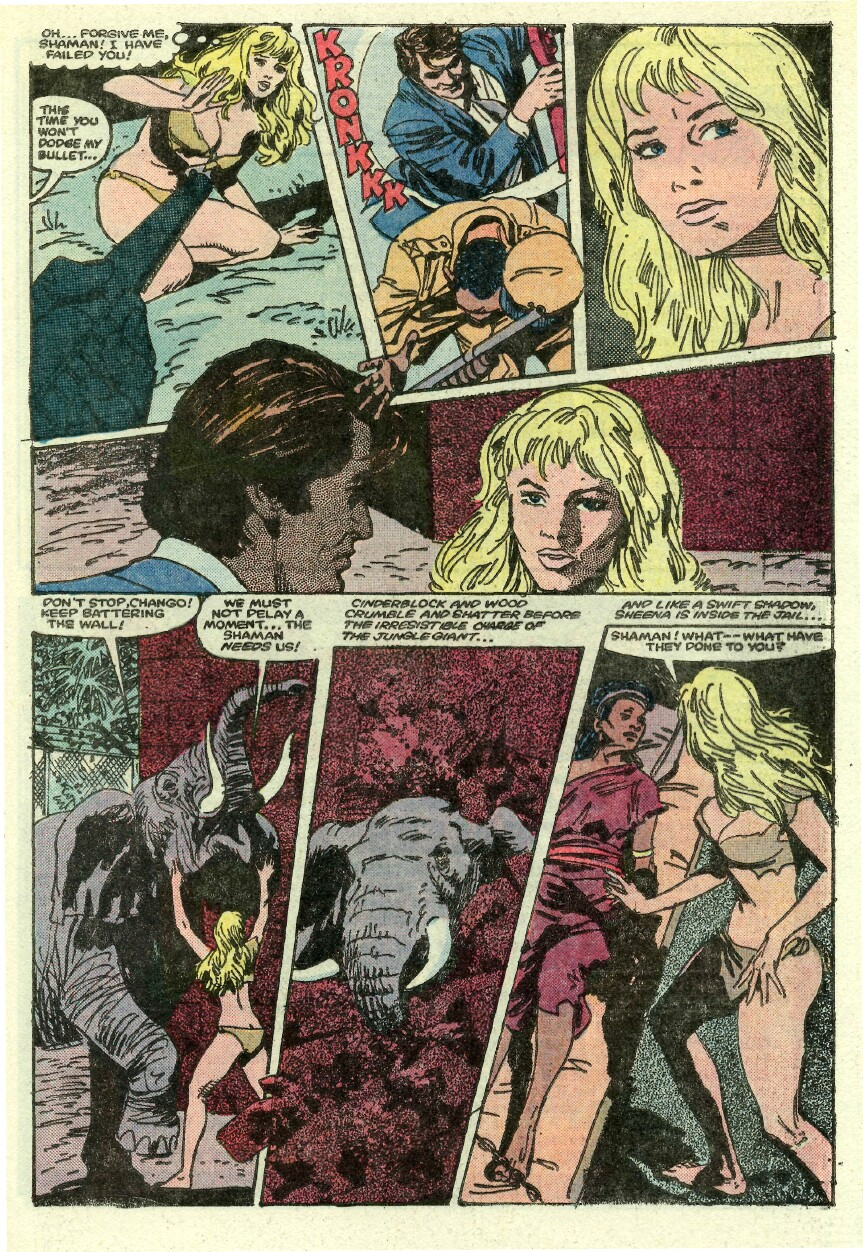 Read online Sheena comic -  Issue #1 - 22
