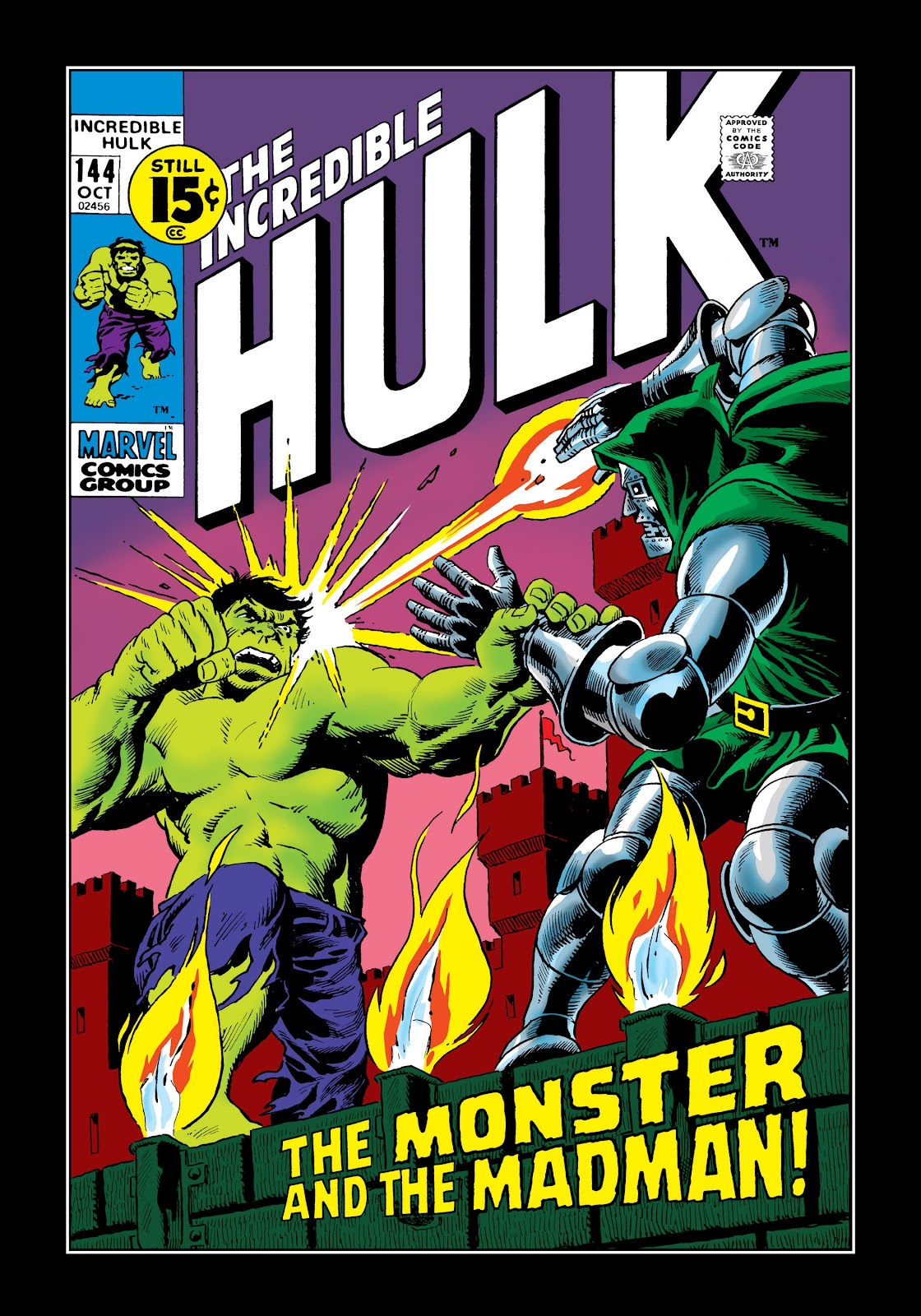 Read online Marvel Masterworks: The Incredible Hulk comic -  Issue # TPB 7 (Part 3) - 7