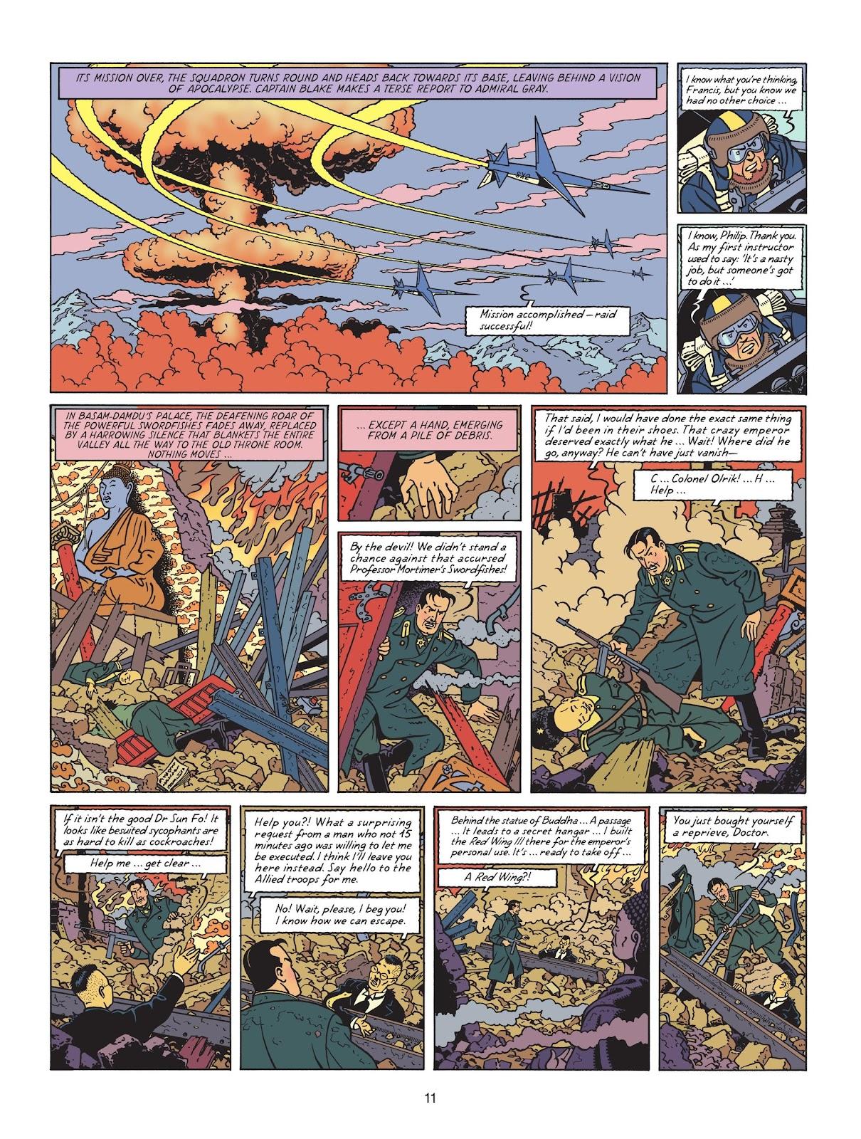 Read online Blake & Mortimer comic -  Issue #25 - 13
