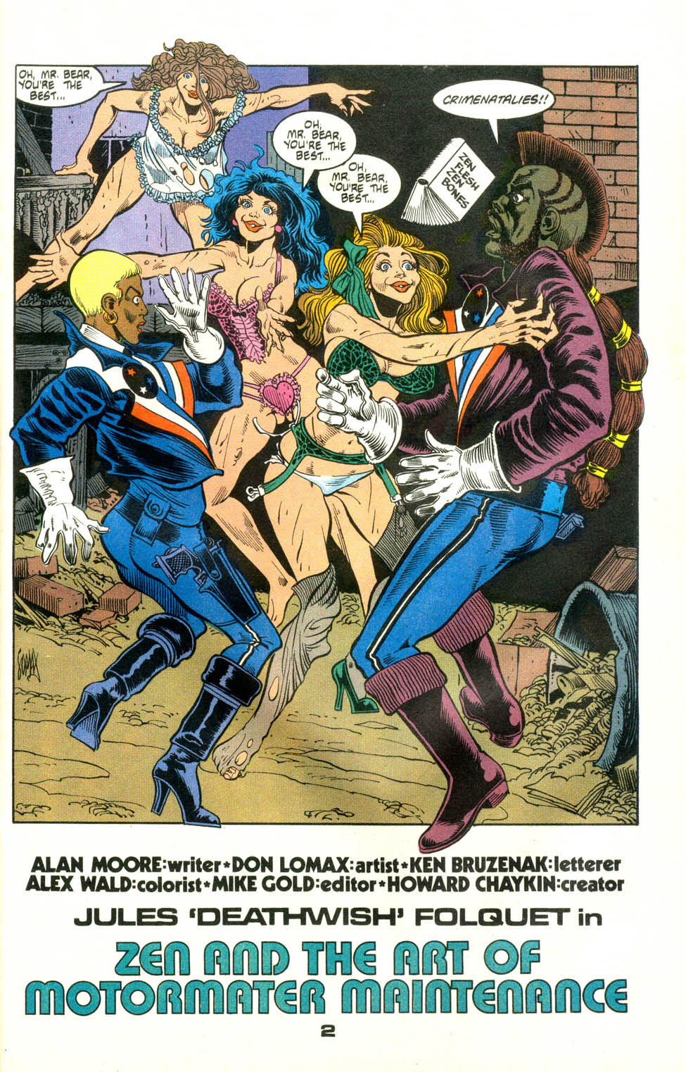Read online American Flagg! comic -  Issue #24 - 24
