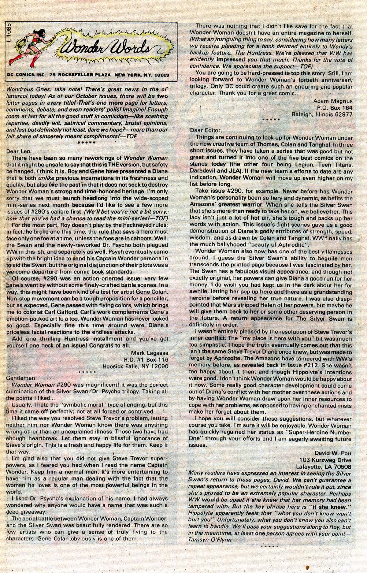 Read online Wonder Woman (1942) comic -  Issue #296 - 18
