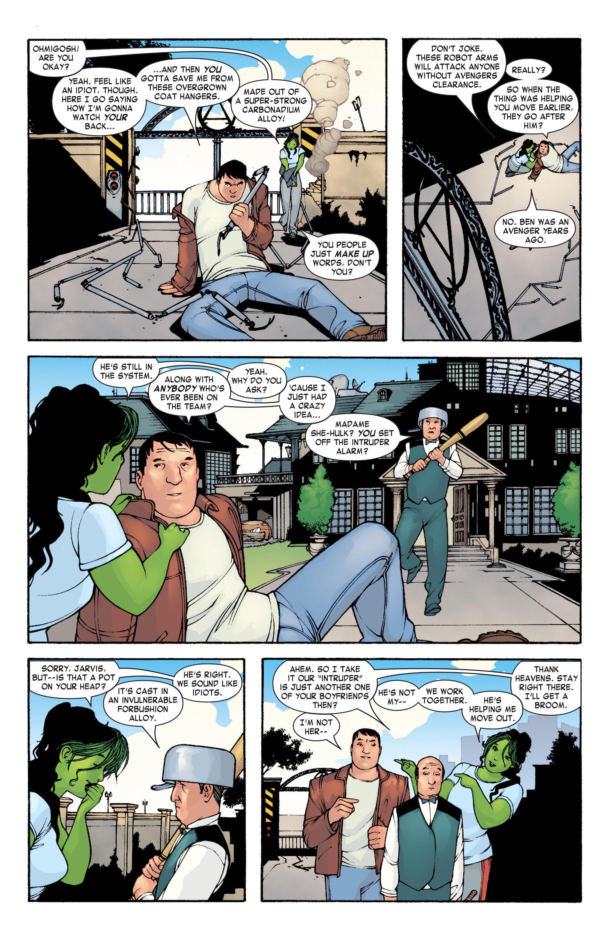 Read online She-Hulk (2004) comic -  Issue #3 - 12