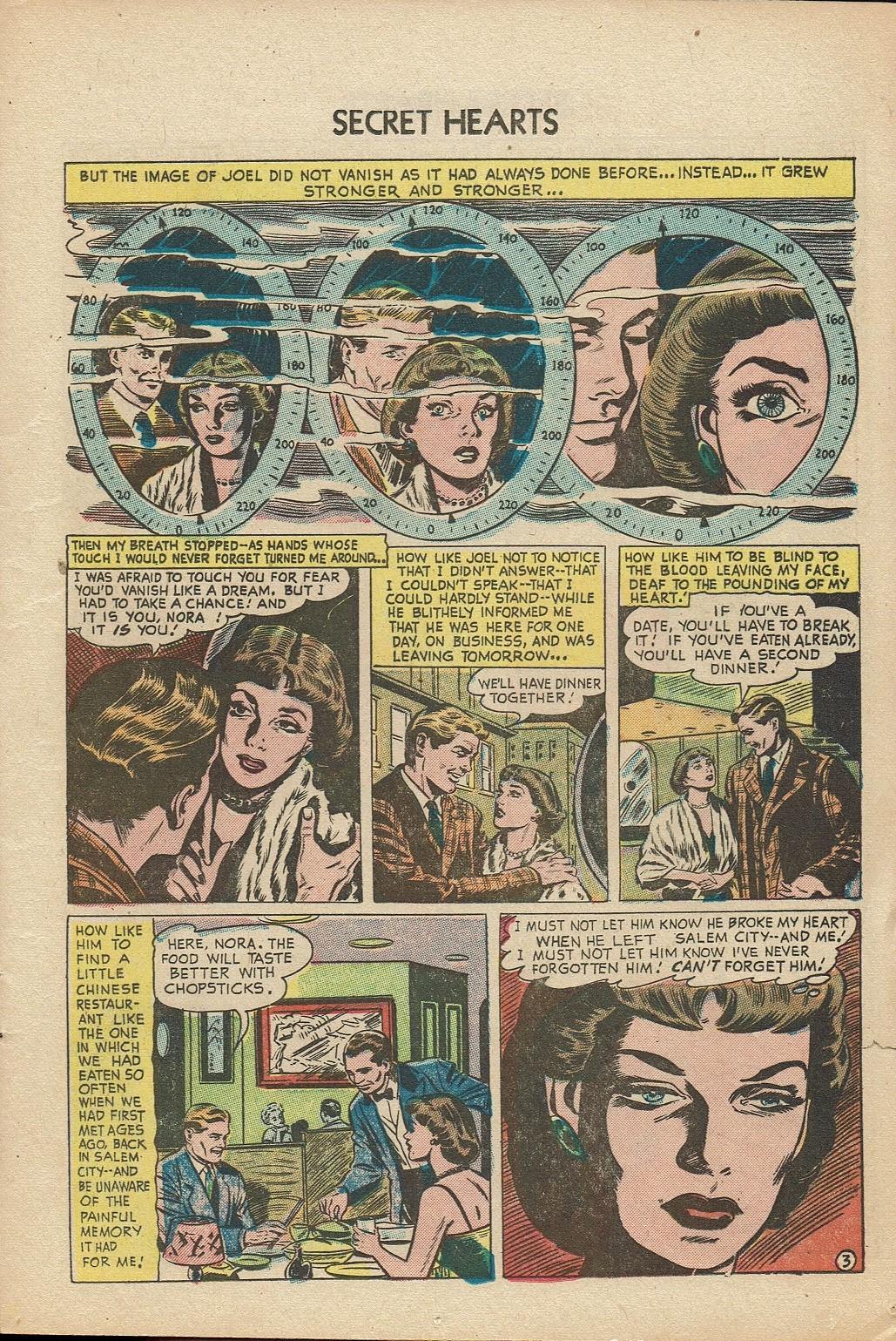 Read online Secret Hearts comic -  Issue #14 - 13