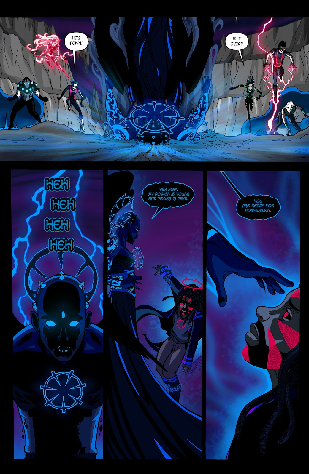 Sentinels issue 3 - Page 17