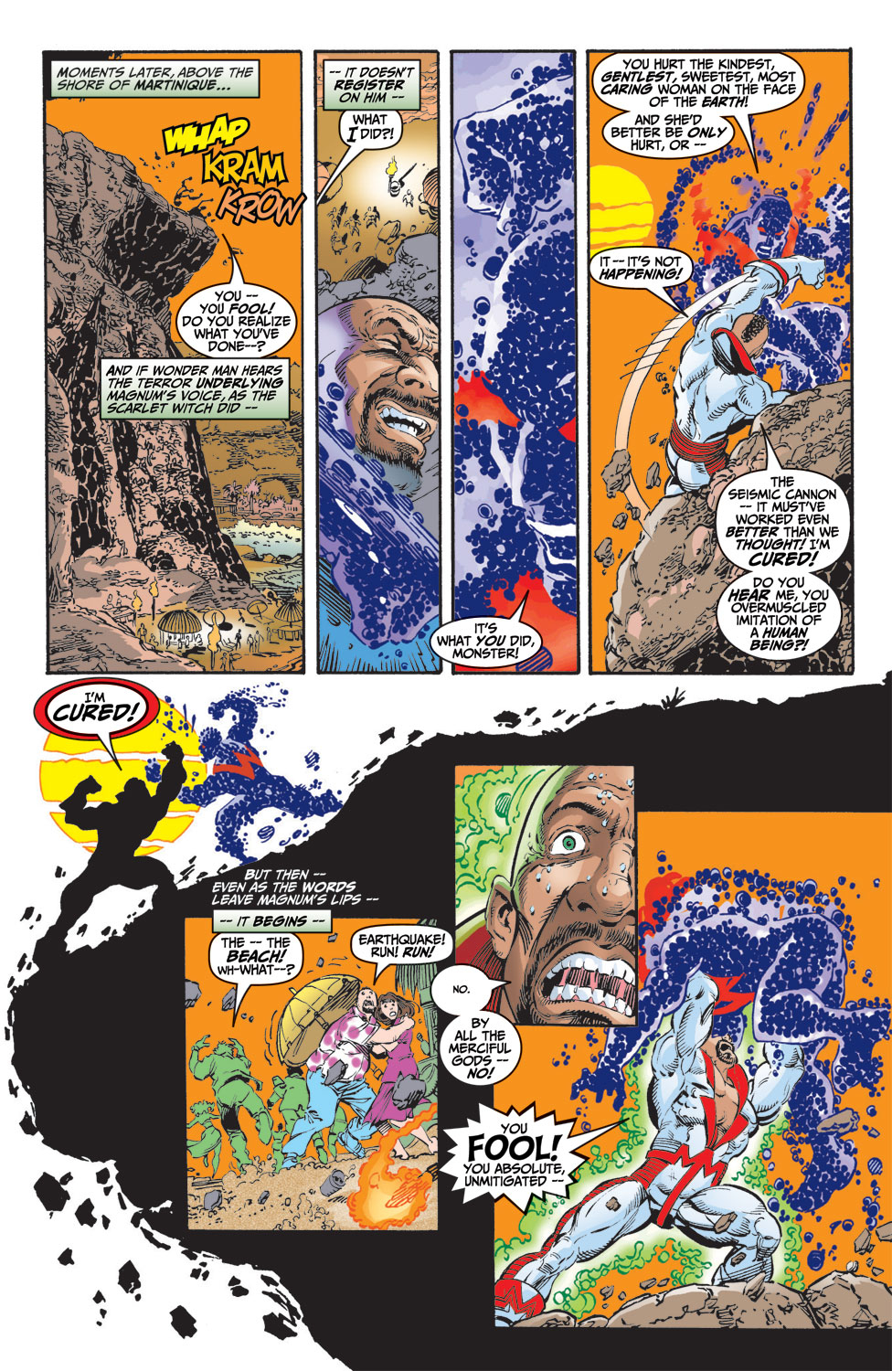 Read online Avengers (1998) comic -  Issue #9 - 19