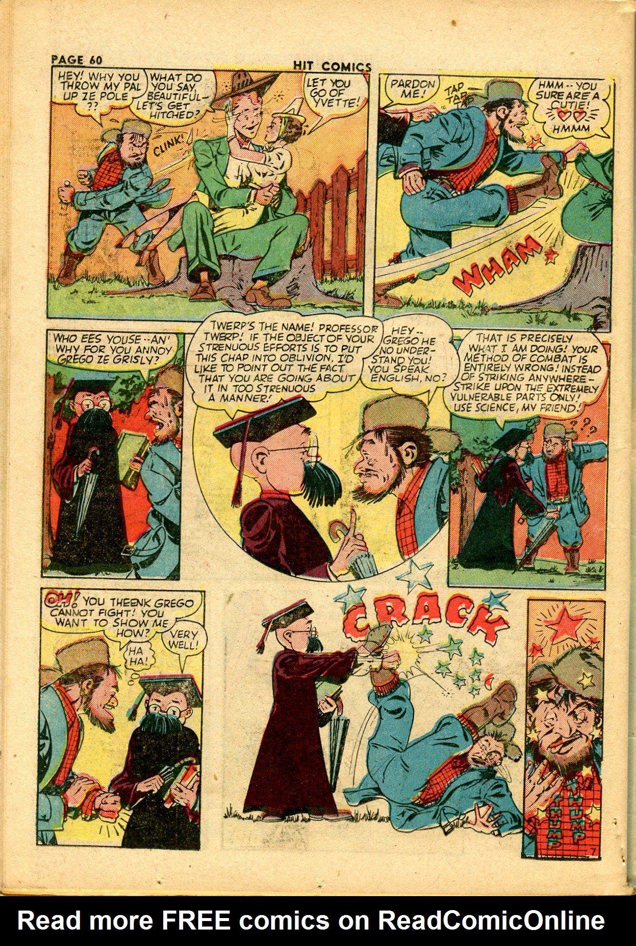 Read online Hit Comics comic -  Issue #28 - 63