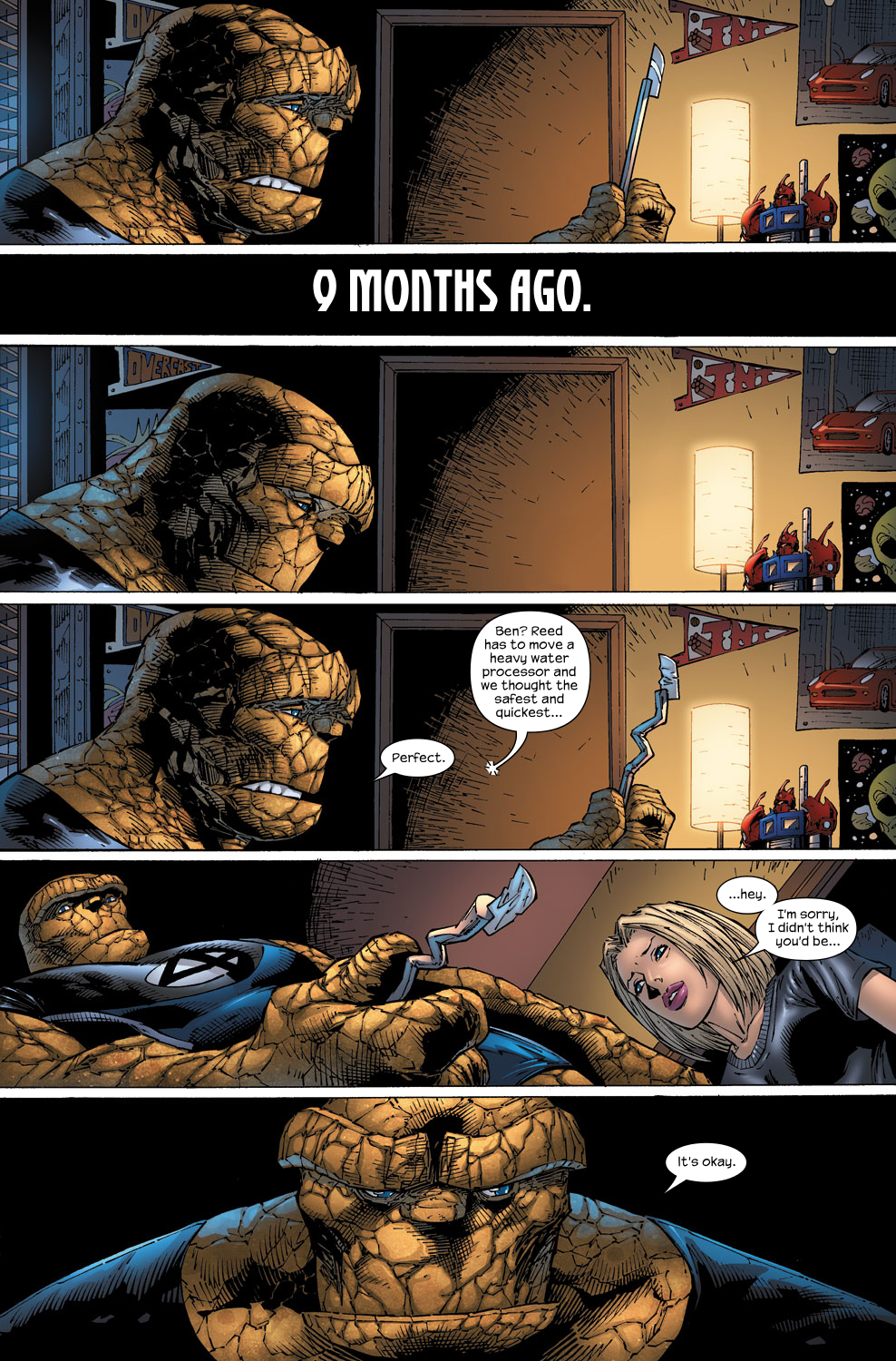 Read online Ultimate Fantastic Four (2004) comic -  Issue #59 - 14