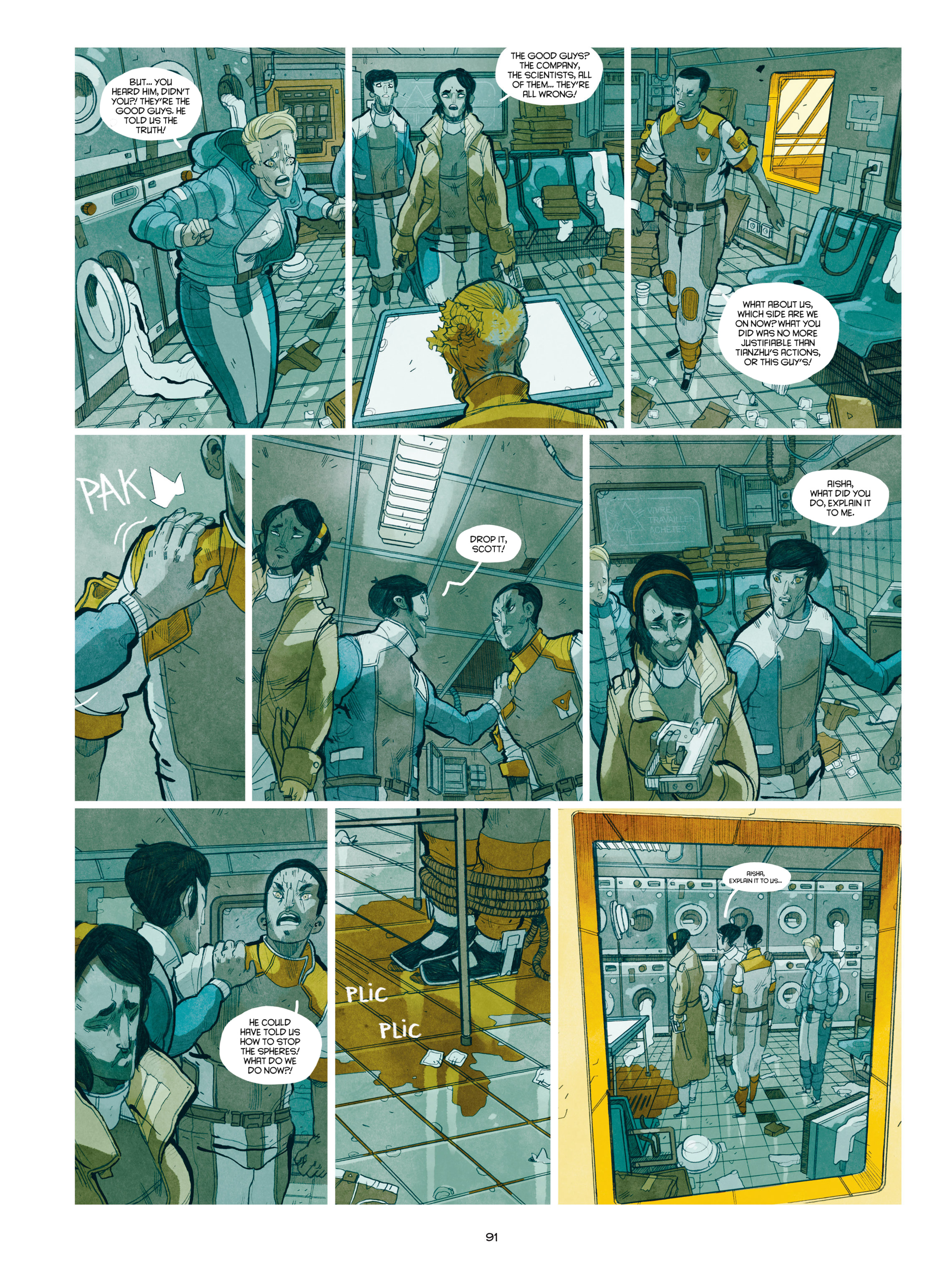 Read online Shangri-La comic -  Issue # Full - 92