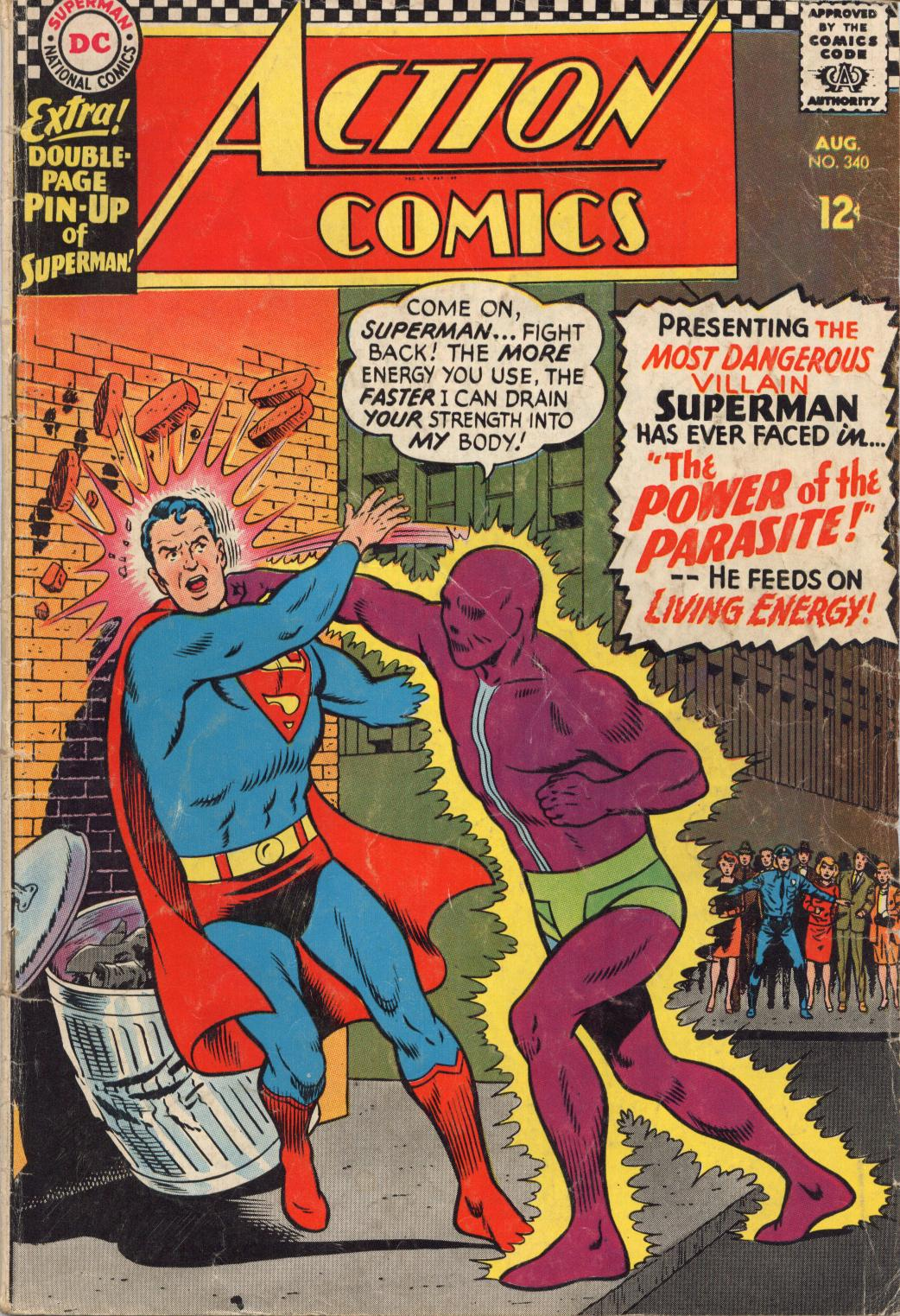 Read online Action Comics (1938) comic -  Issue #340 - 1