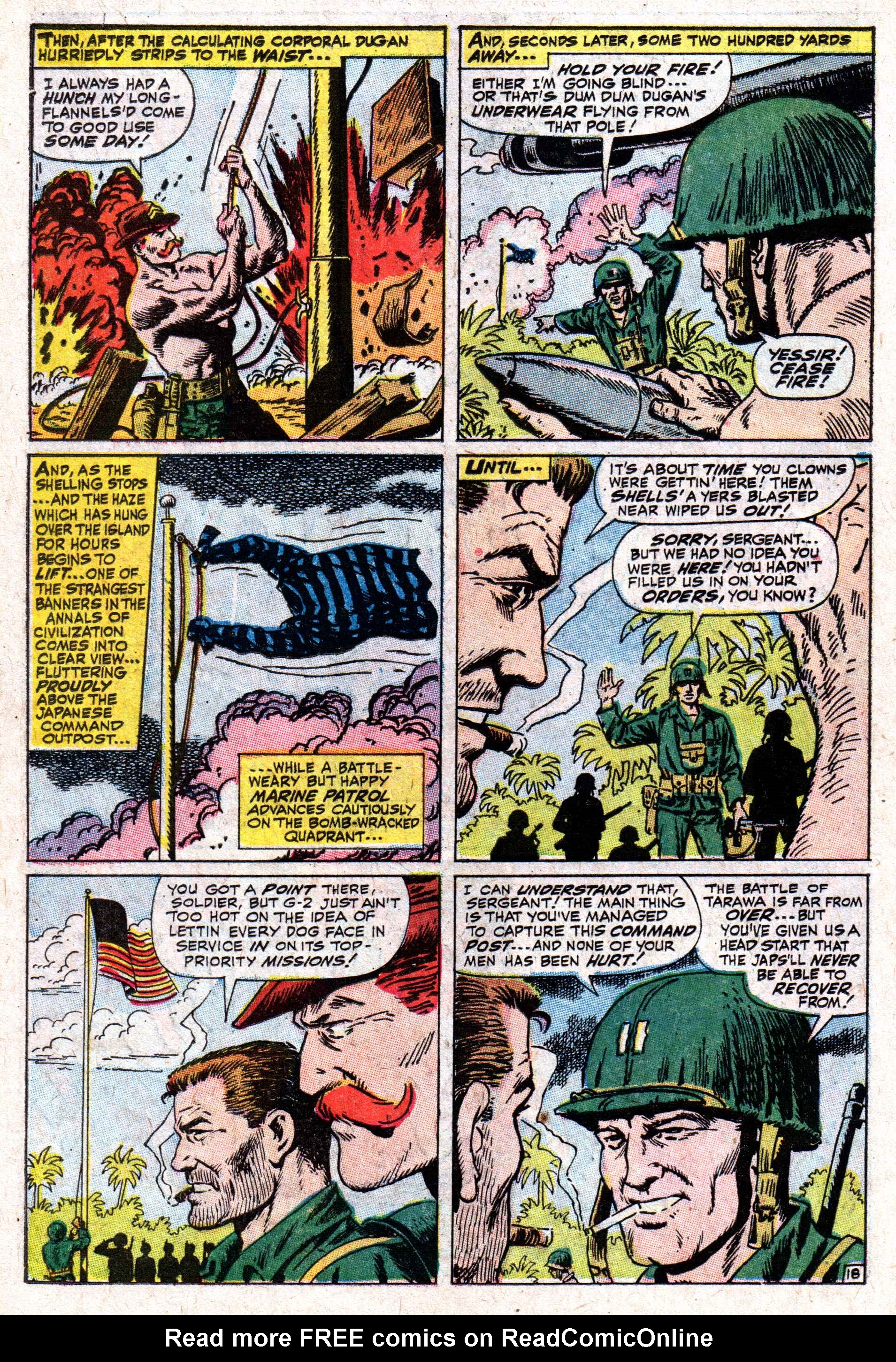 Read online Sgt. Fury comic -  Issue #50 - 26
