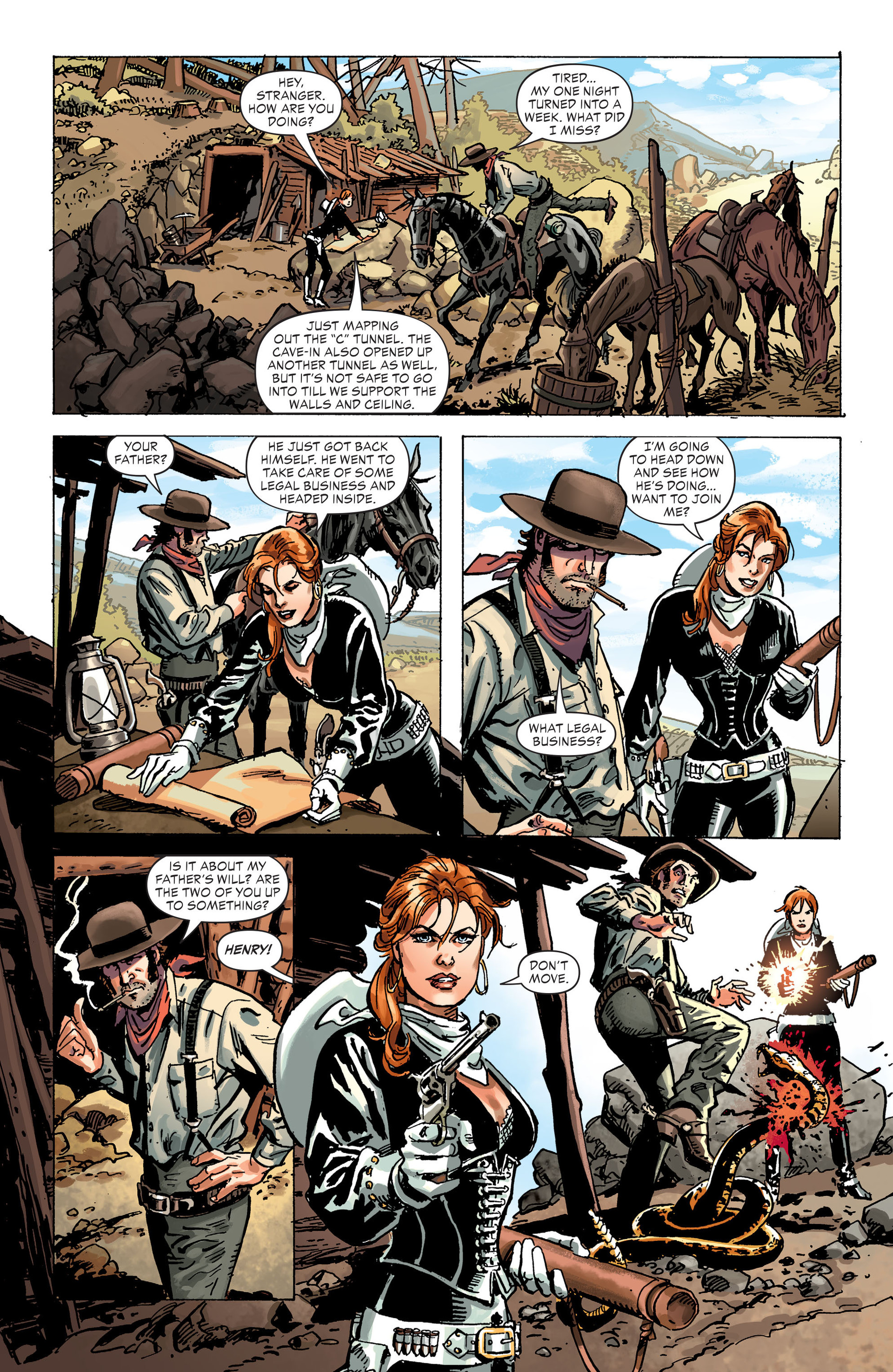 Read online All-Star Western (2011) comic -  Issue #30 - 18