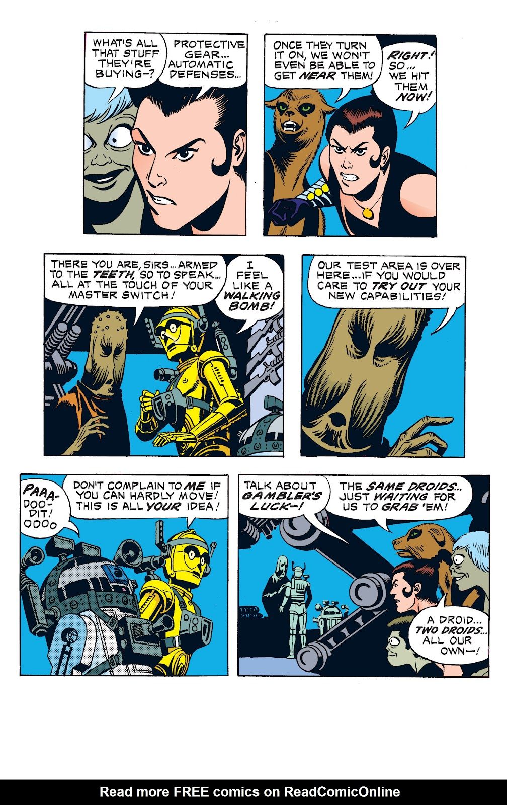 Read online Star Wars Legends: The Newspaper Strips - Epic Collection comic -  Issue # TPB (Part 1) - 83