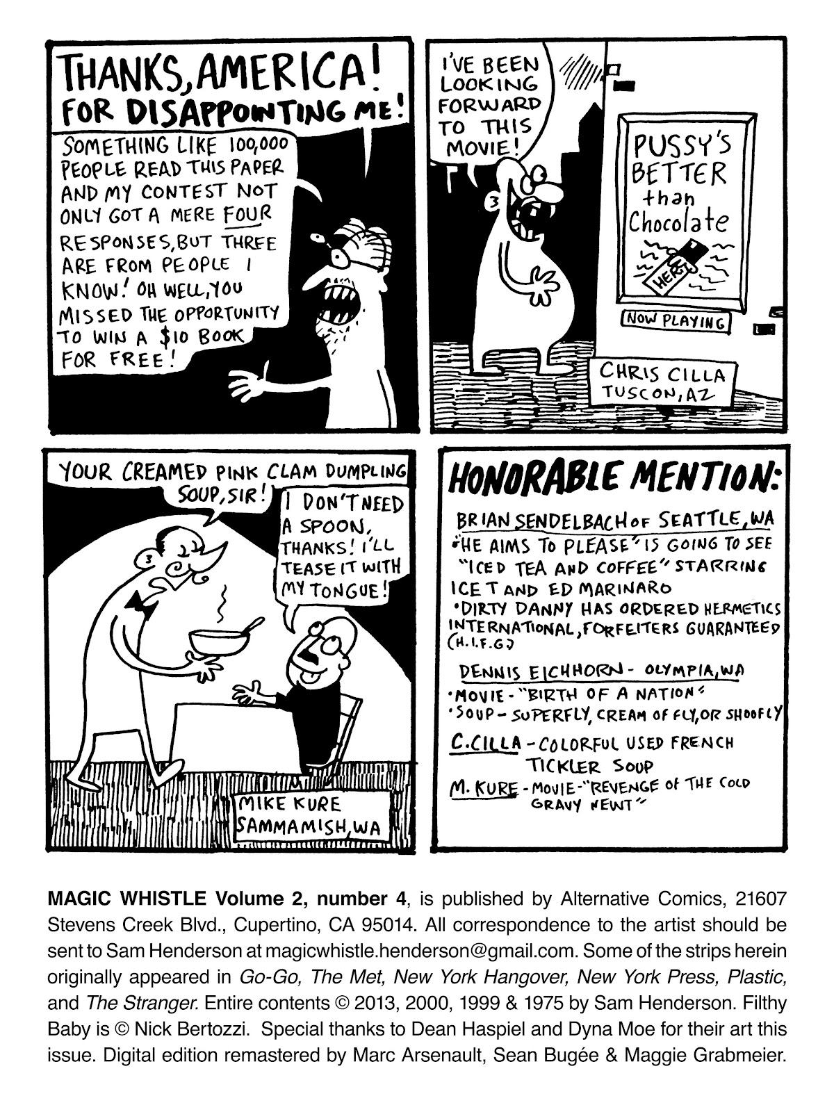 Read online Magic Whistle comic -  Issue #4 - 33