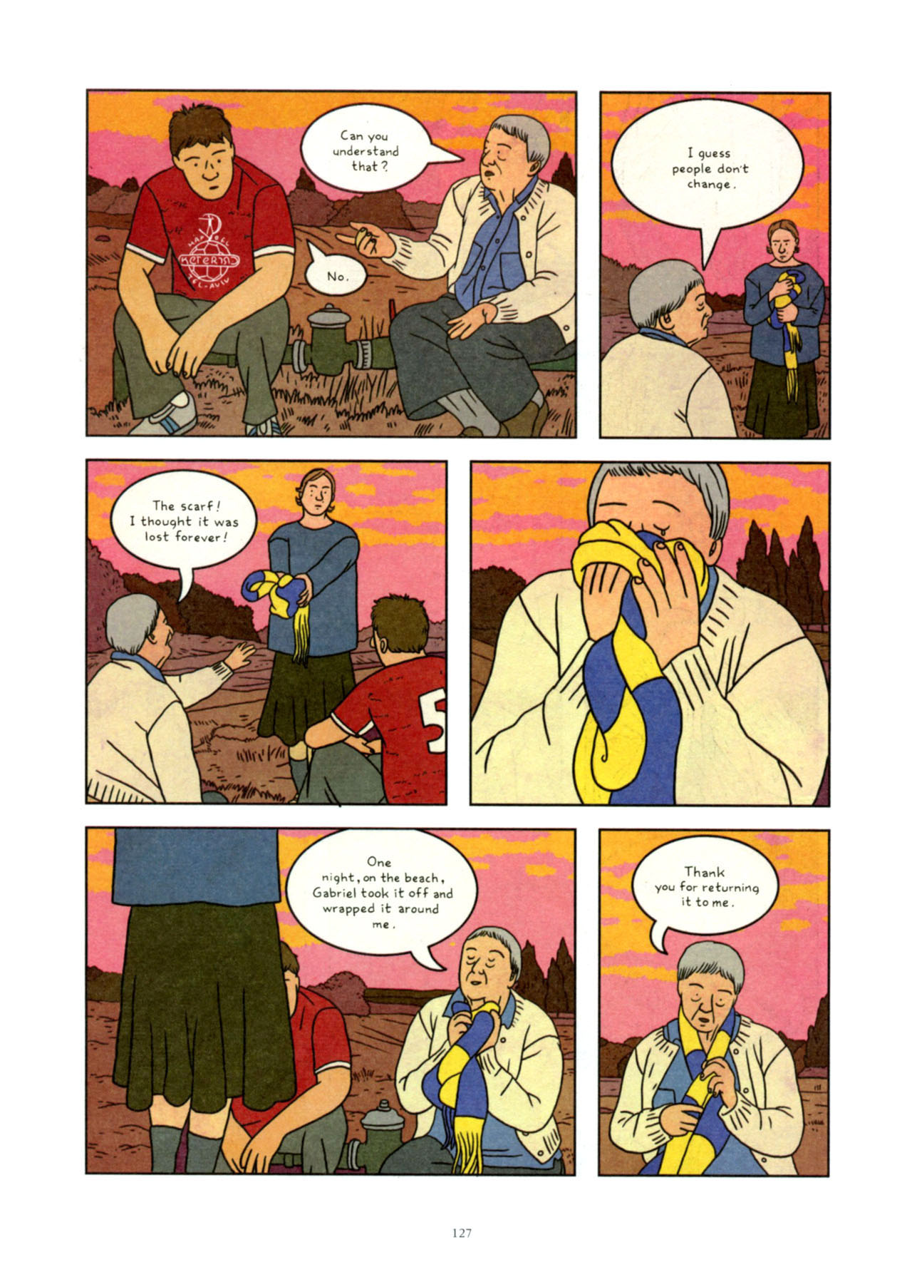 Read online Exit Wounds comic -  Issue # TPB - 127