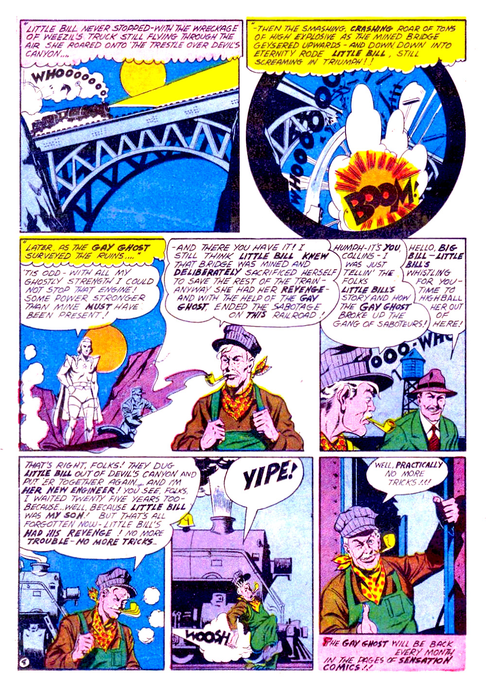 Read online Sensation (Mystery) Comics comic -  Issue #29 - 38