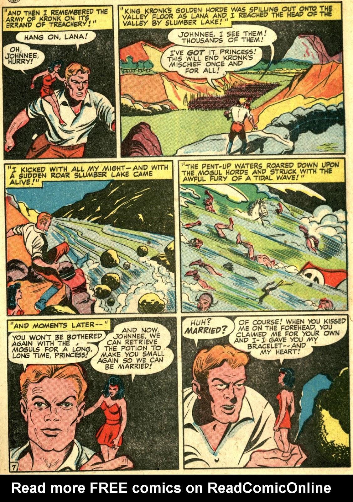 Comic Cavalcade issue 27 - Page 25