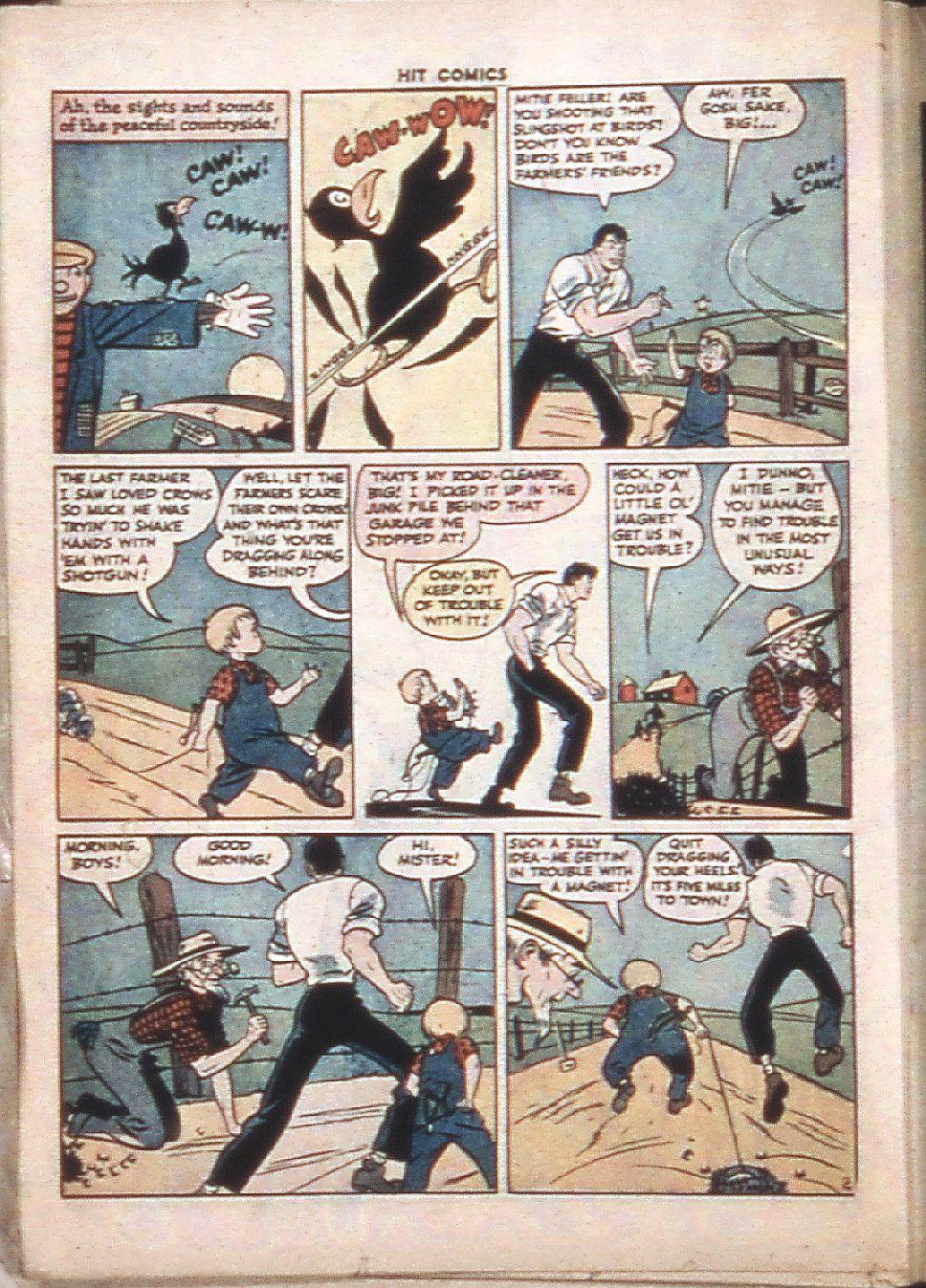 Read online Hit Comics comic -  Issue #37 - 32