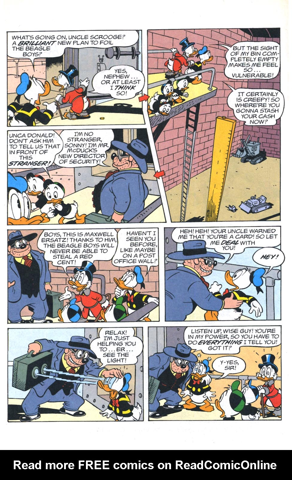 Read online Uncle Scrooge (1953) comic -  Issue #301 - 17