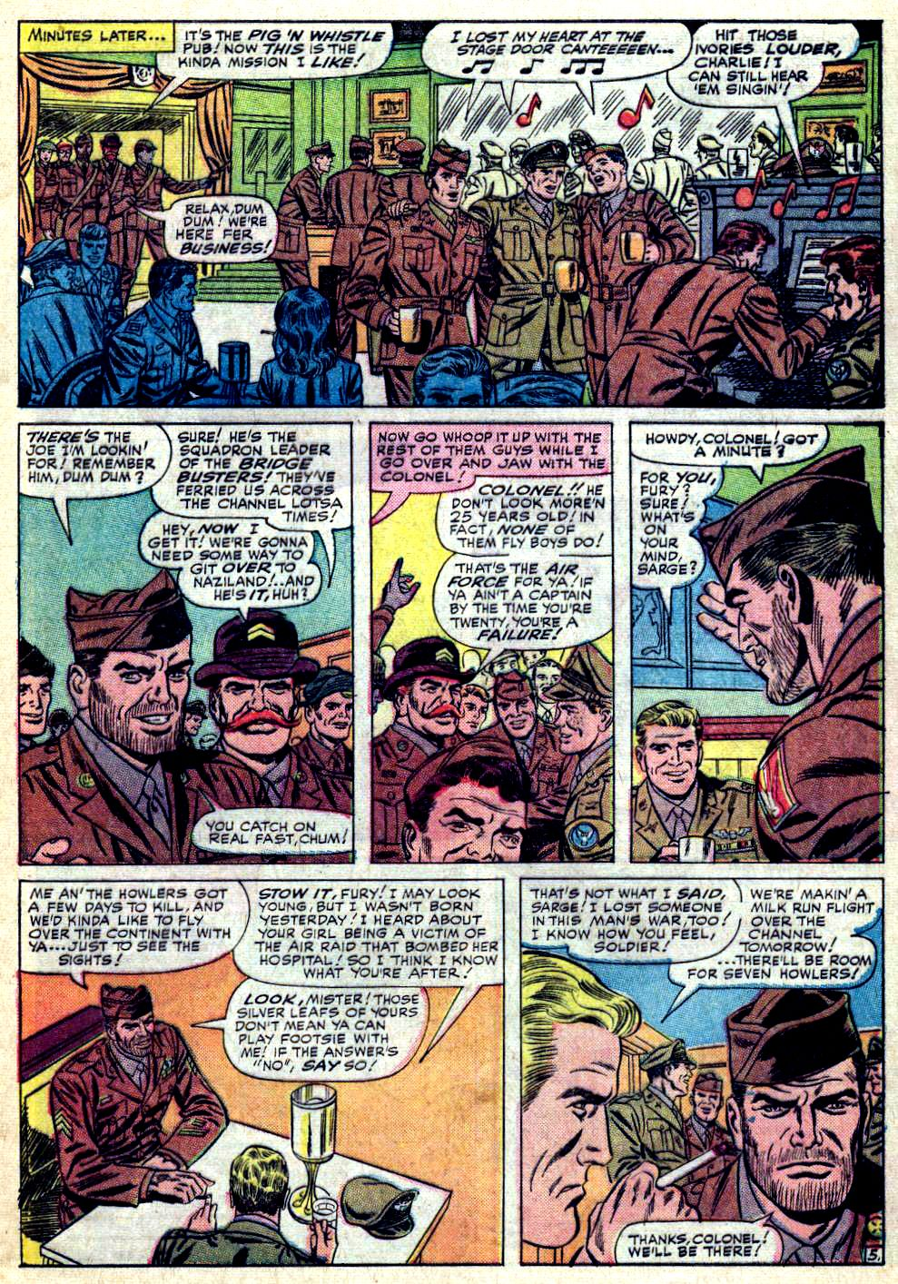Read online Sgt. Fury comic -  Issue #19 - 9
