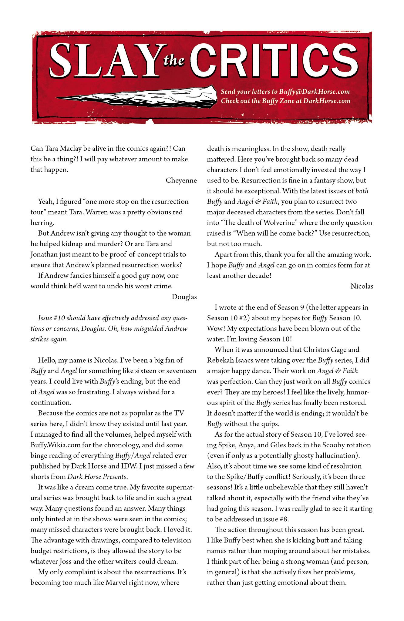 Read online Angel & Faith Season 10 comic -  Issue #10 - 25