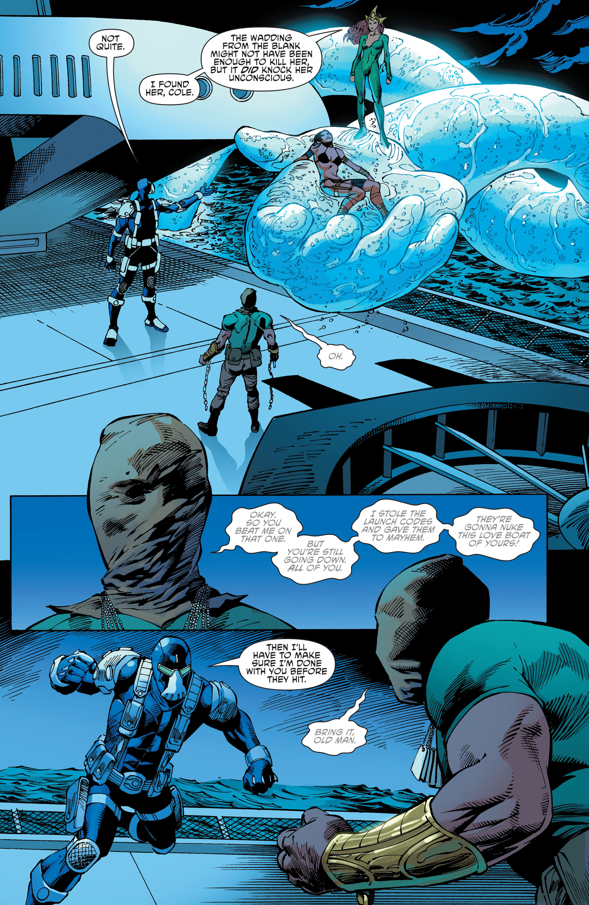 Read online Aquaman and the Others comic -  Issue #10 - 10