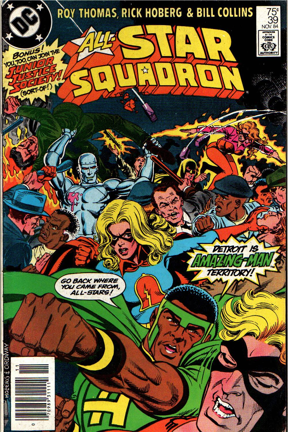All-Star Squadron 39 Page 1