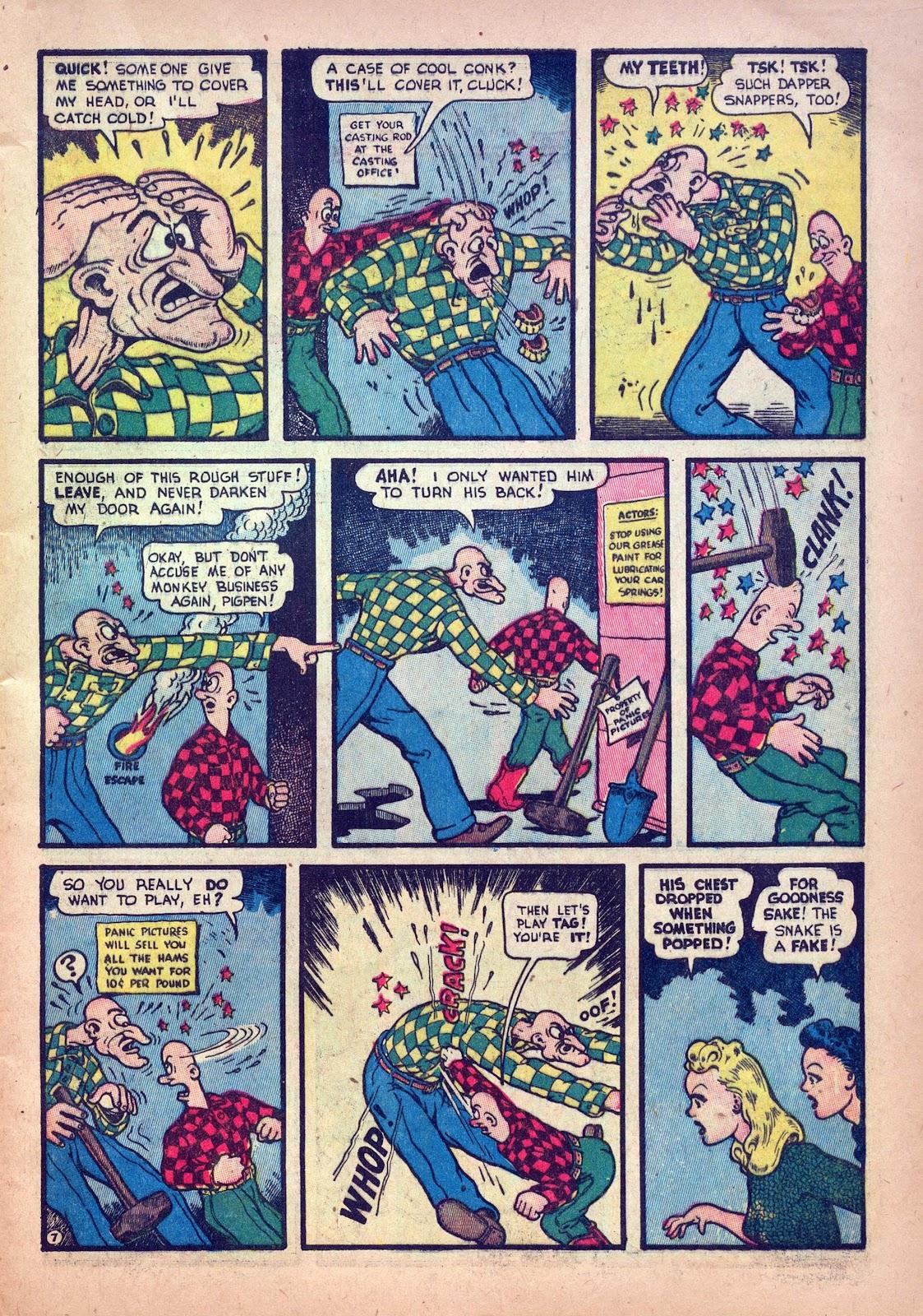 Read online Joker Comics comic -  Issue #12 - 9