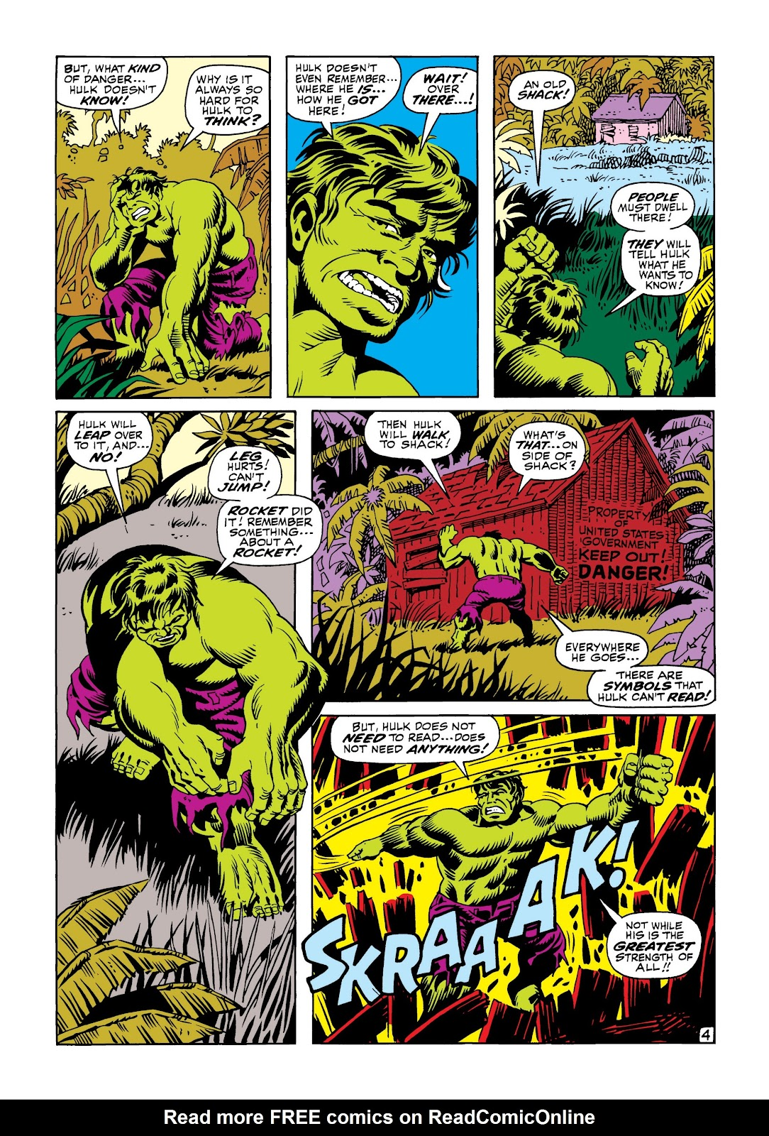 Read online Marvel Masterworks: The Incredible Hulk comic -  Issue # TPB 5 (Part 3) - 20
