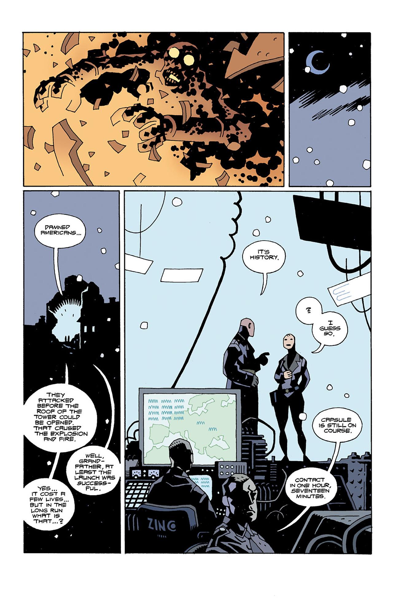 Read online Hellboy: Conqueror Worm comic -  Issue #2 - 17