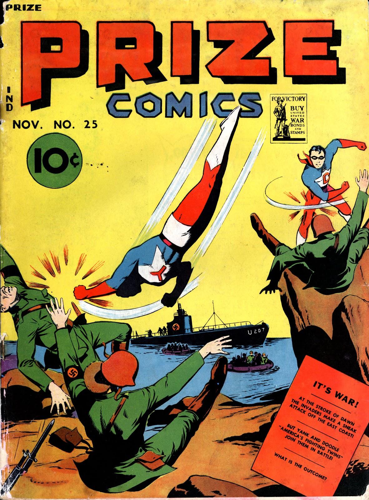Prize Comics 25 Page 1